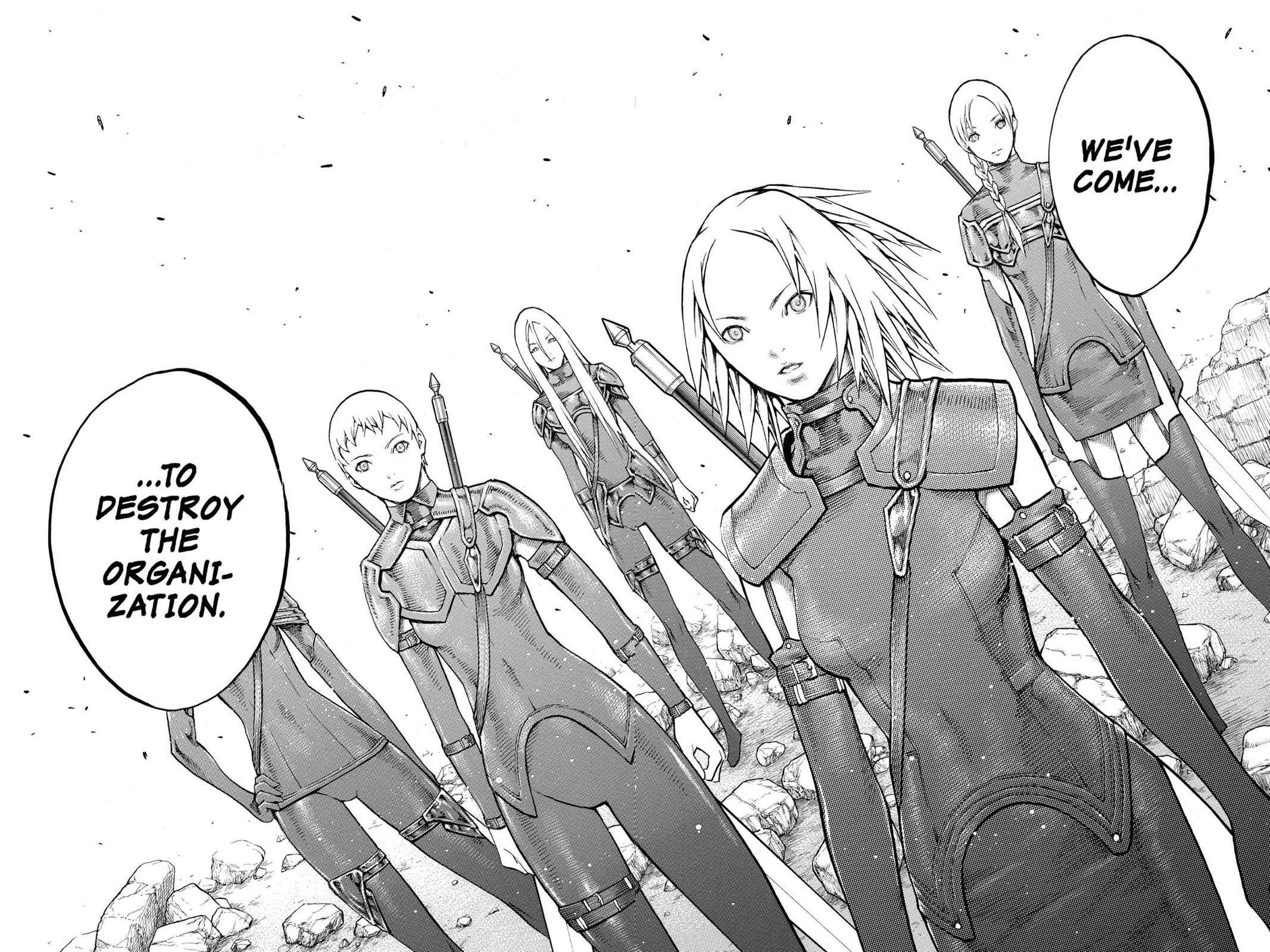 Claymore Chapter 79 Page 9