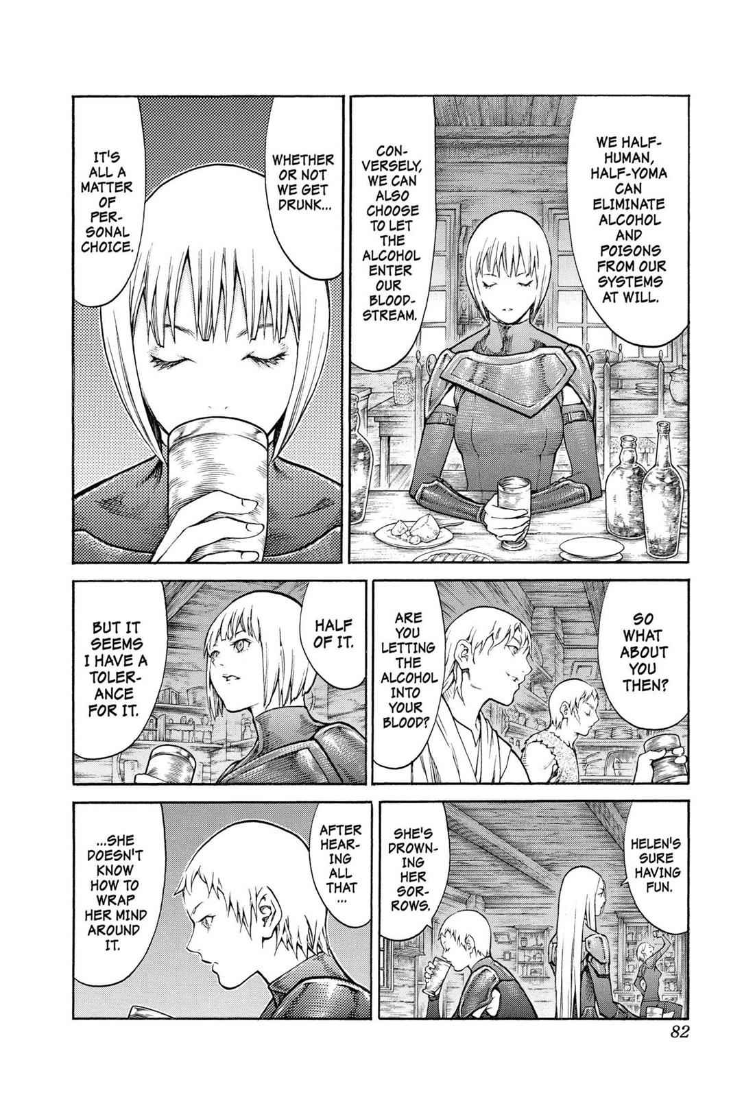 Claymore Chapter 80 Page 11
