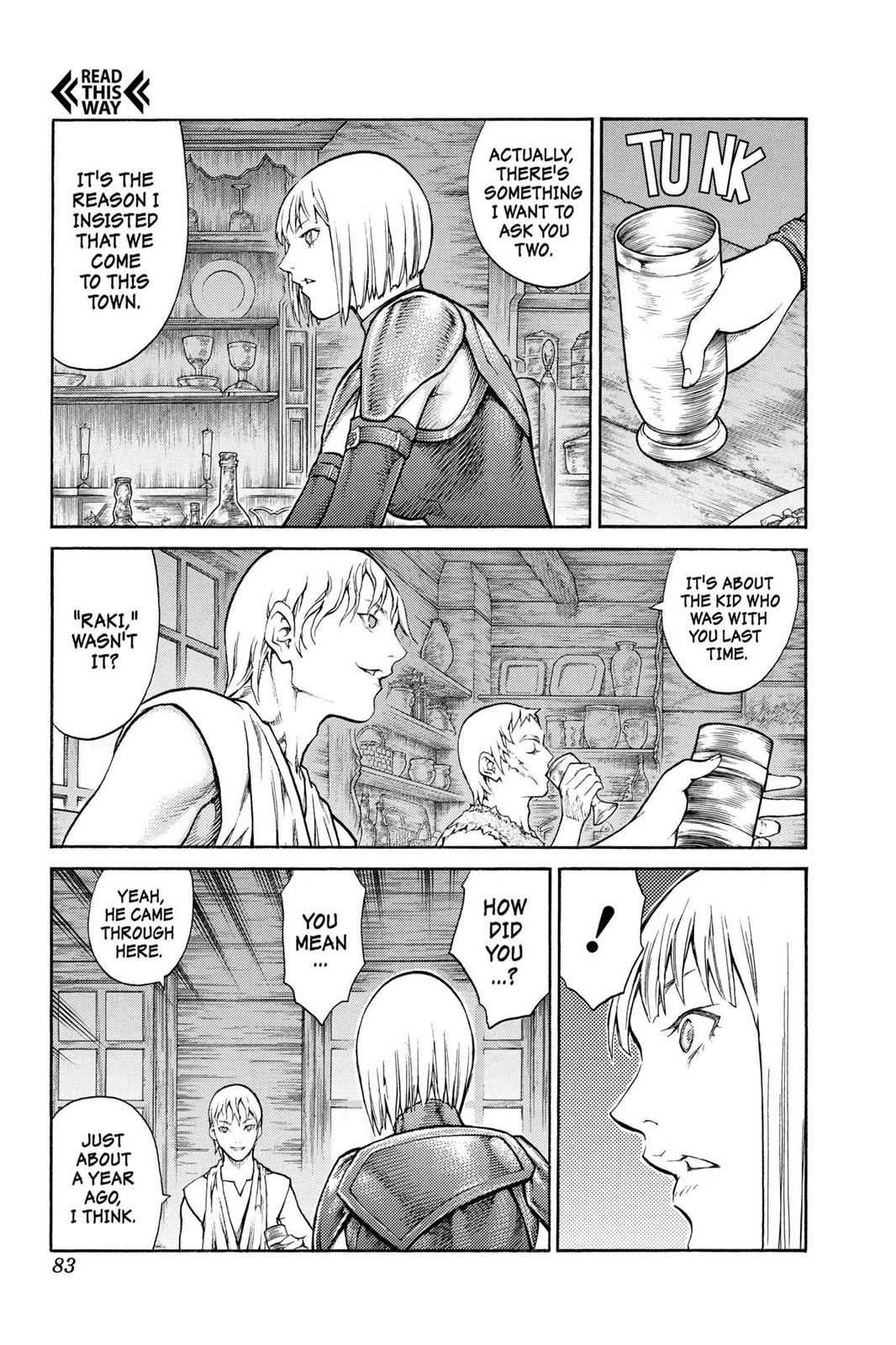 Claymore Chapter 80 Page 12