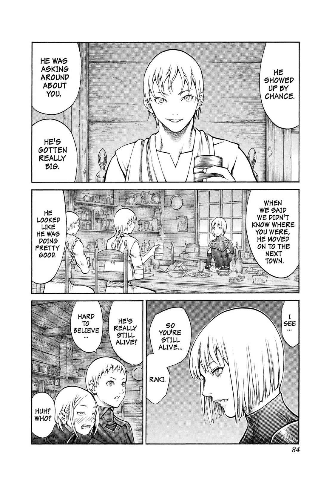 Claymore Chapter 80 Page 13