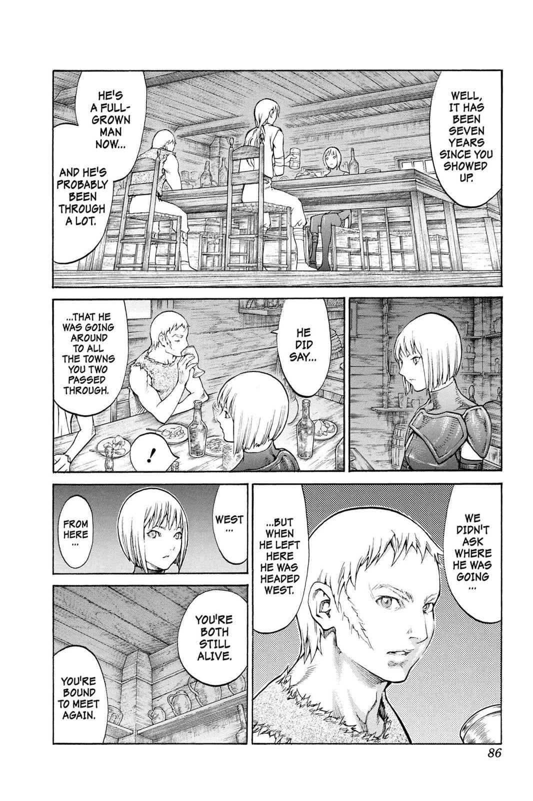 Claymore Chapter 80 Page 15
