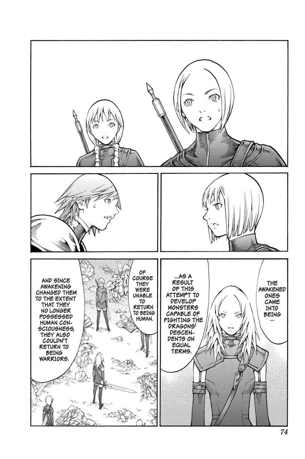 Claymore Chapter 80 Page 3