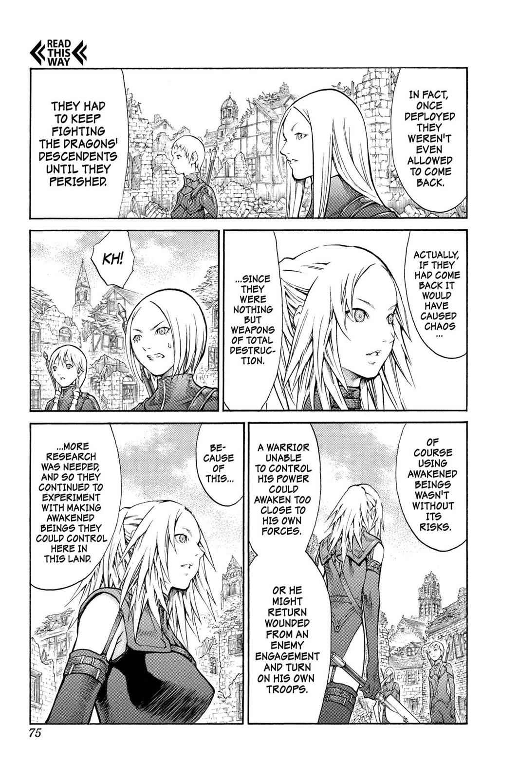 Claymore Chapter 80 Page 4