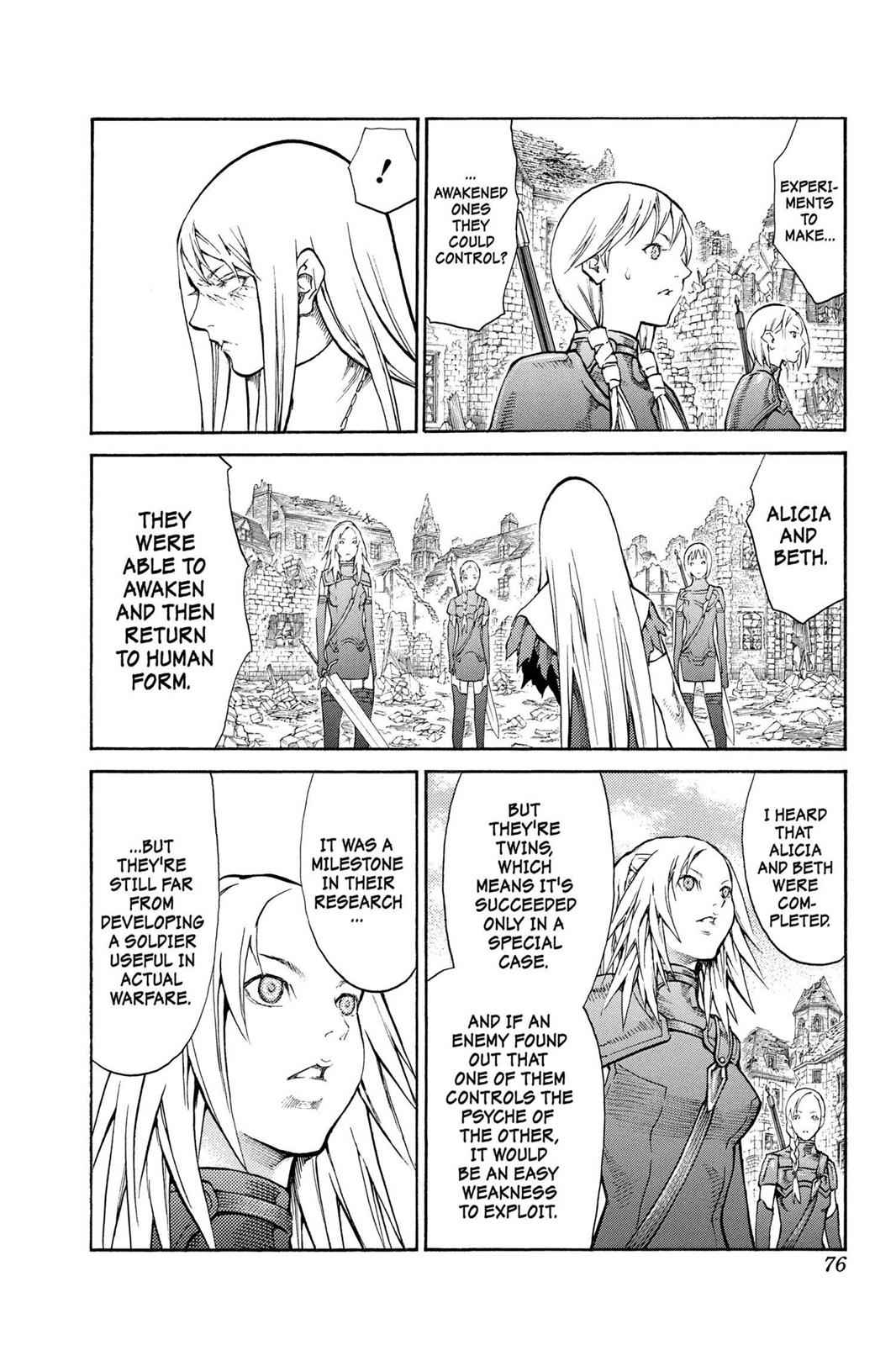 Claymore Chapter 80 Page 5