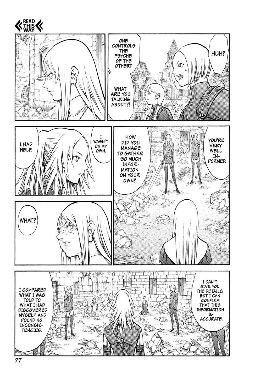 Claymore Chapter 80 Page 6