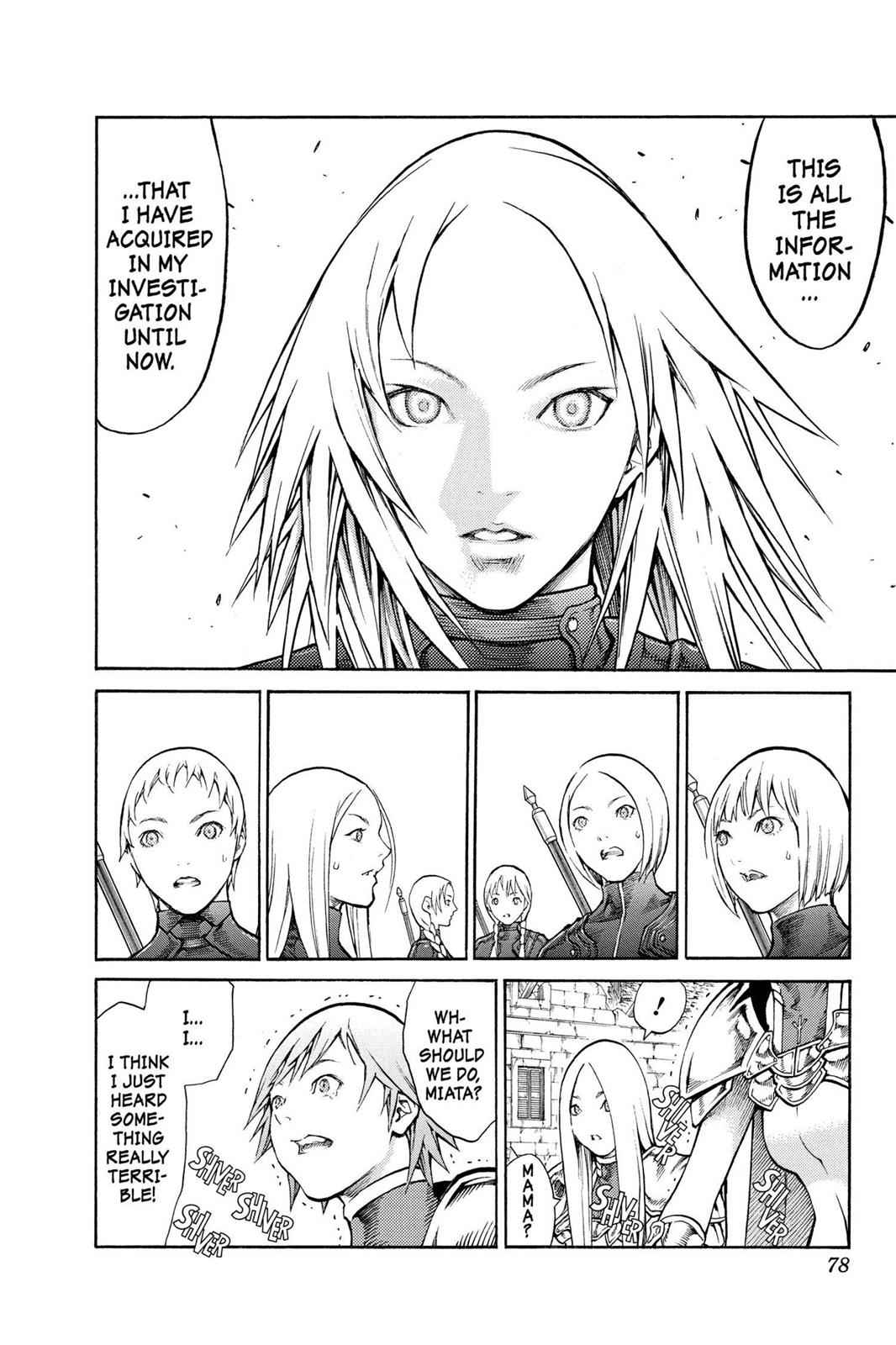 Claymore Chapter 80 Page 7