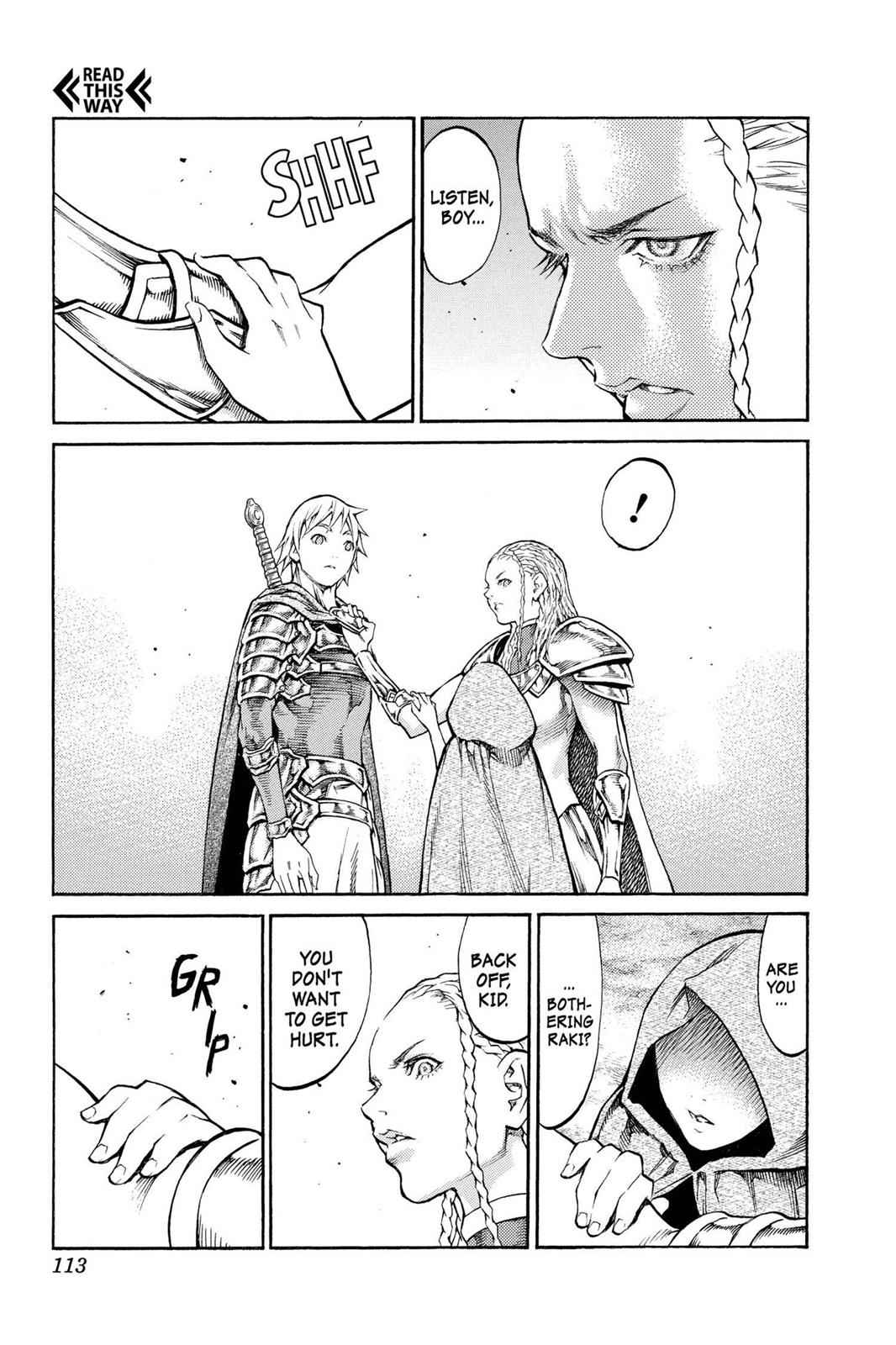 Claymore Chapter 81 Page 10