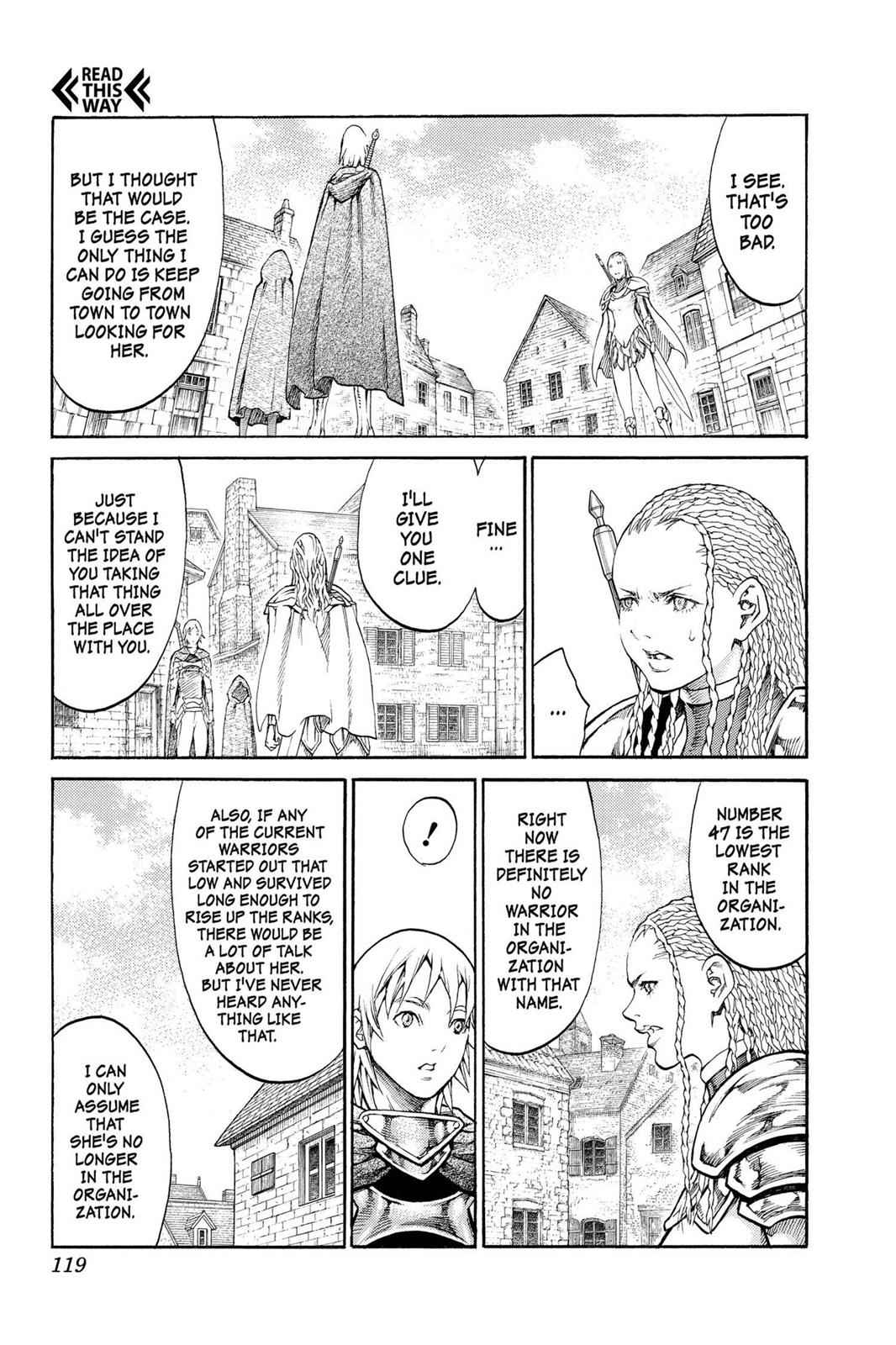 Claymore Chapter 81 Page 16