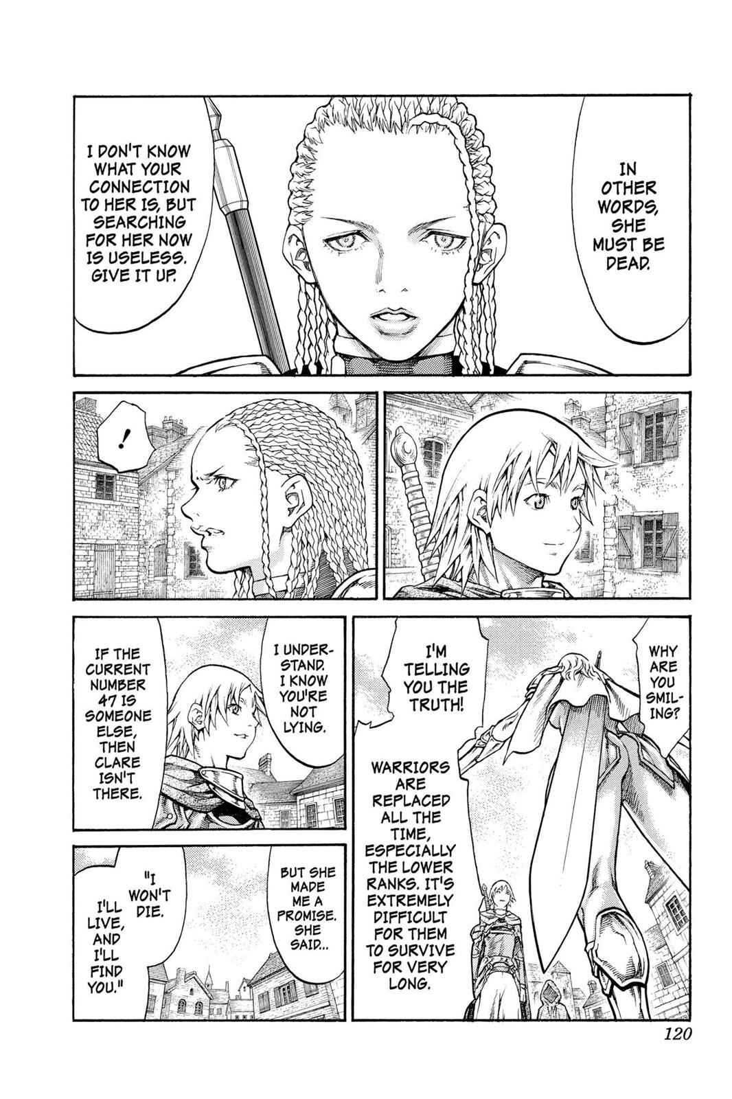 Claymore Chapter 81 Page 17