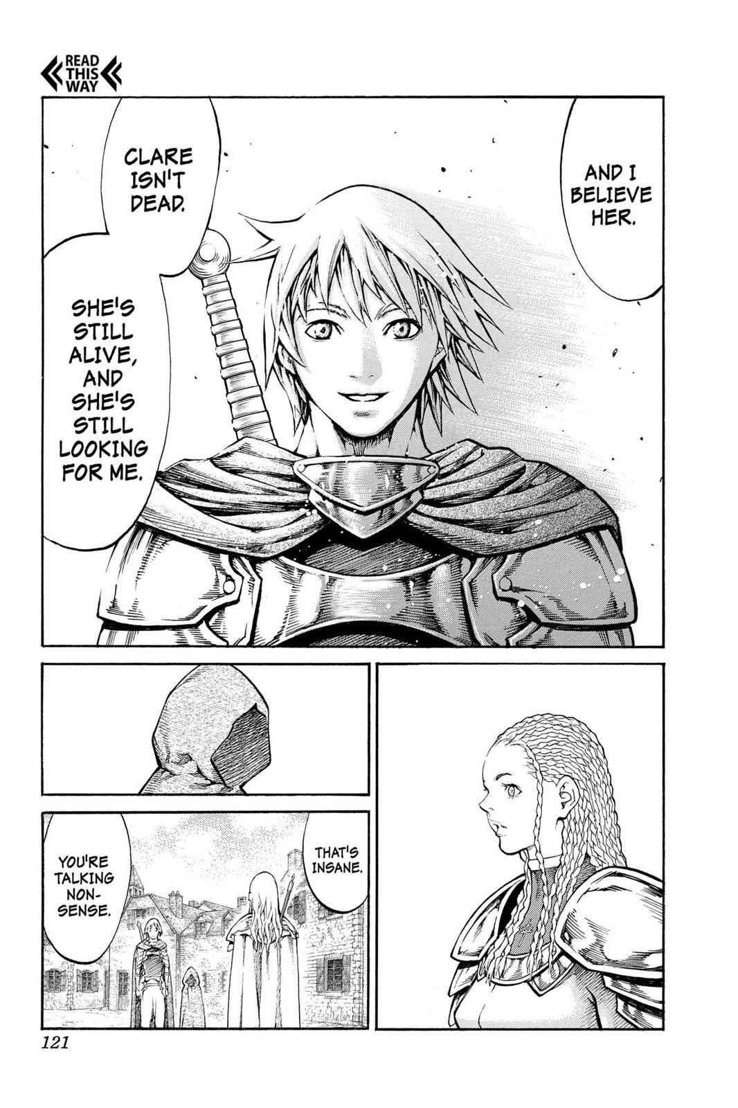 Claymore Chapter 81 Page 18