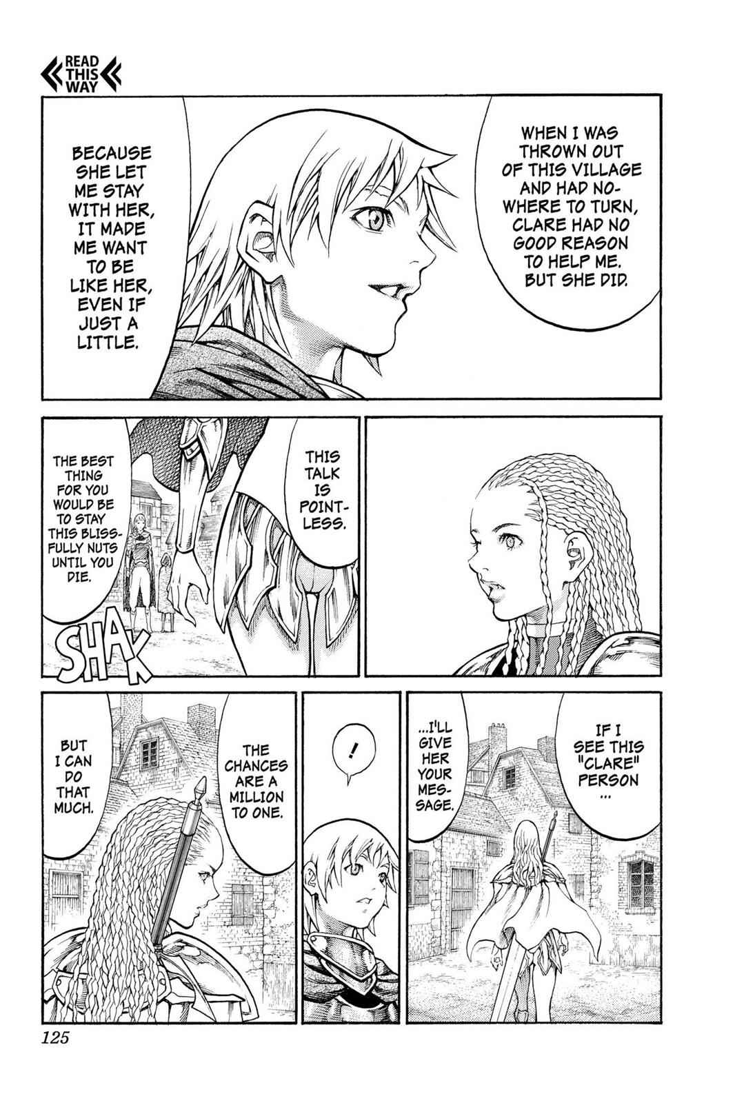 Claymore Chapter 81 Page 22