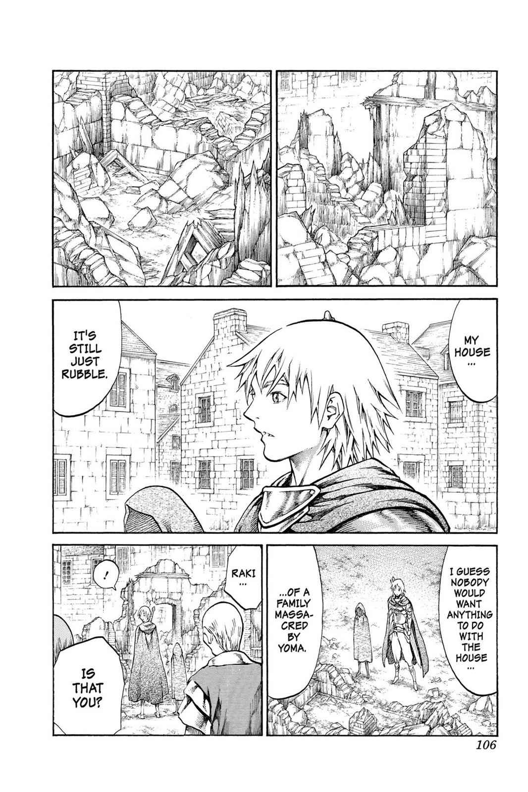 Claymore Chapter 81 Page 3