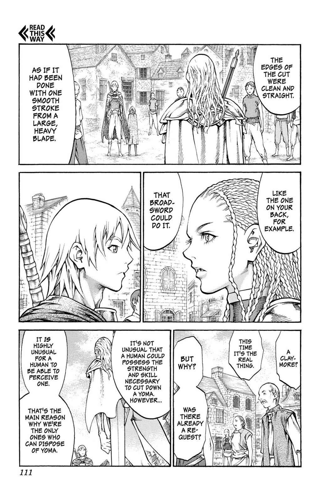 Claymore Chapter 81 Page 8