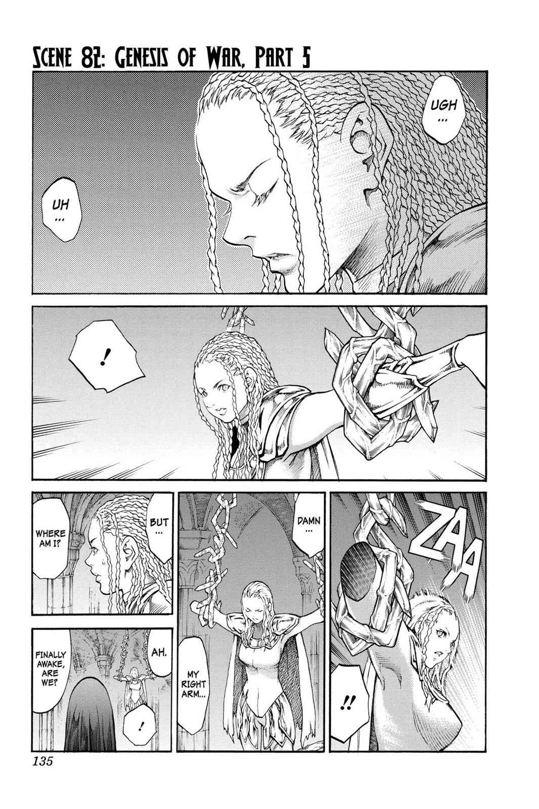 Claymore Chapter 82 Page 1