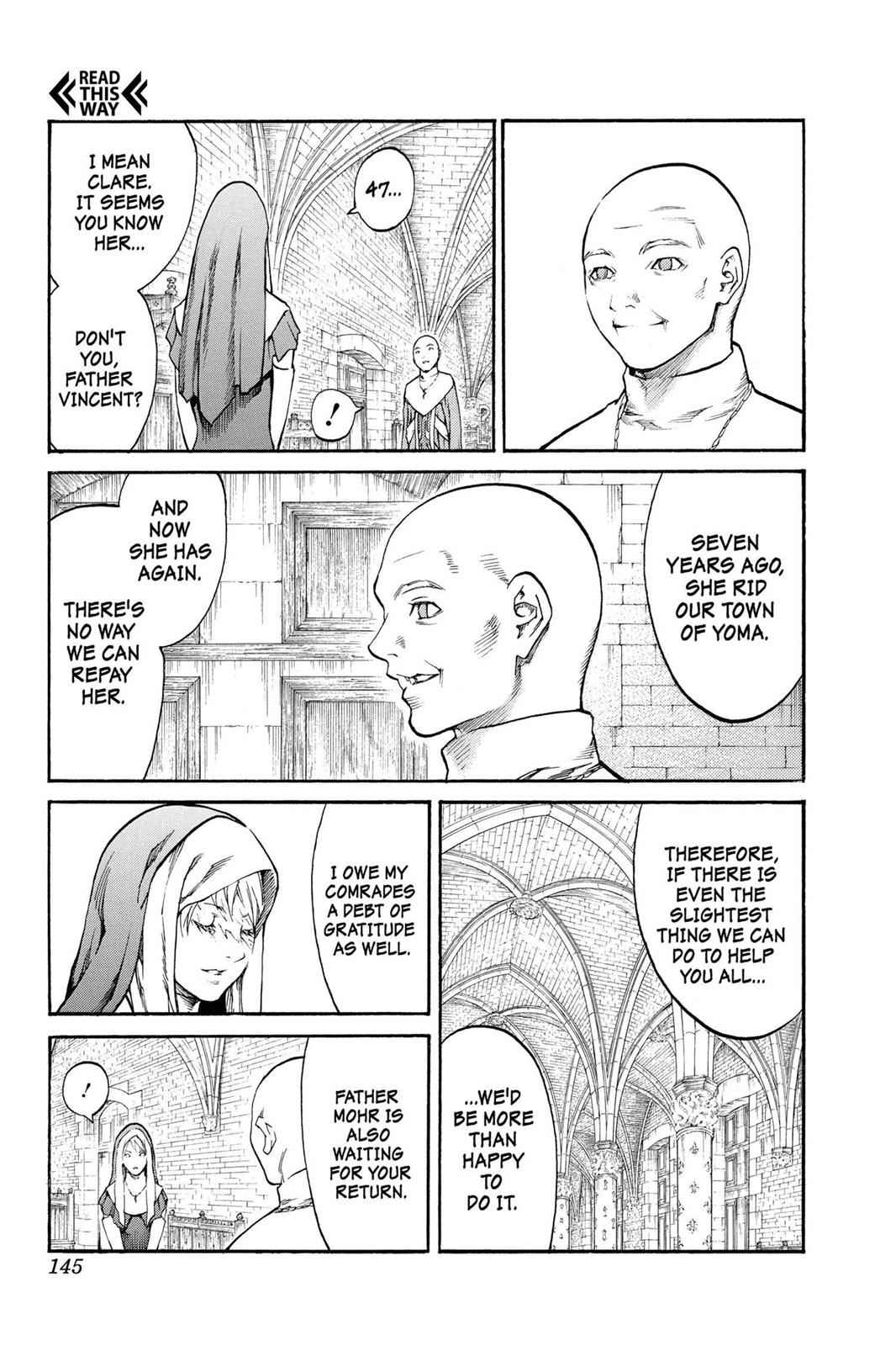 Claymore Chapter 82 Page 11