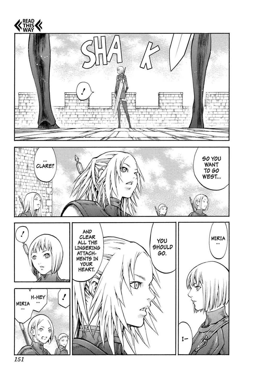 Claymore Chapter 82 Page 17