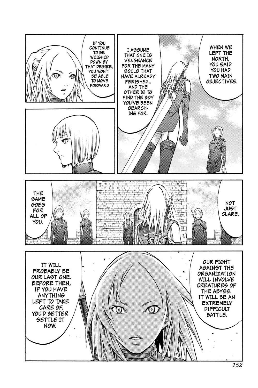 Claymore Chapter 82 Page 18