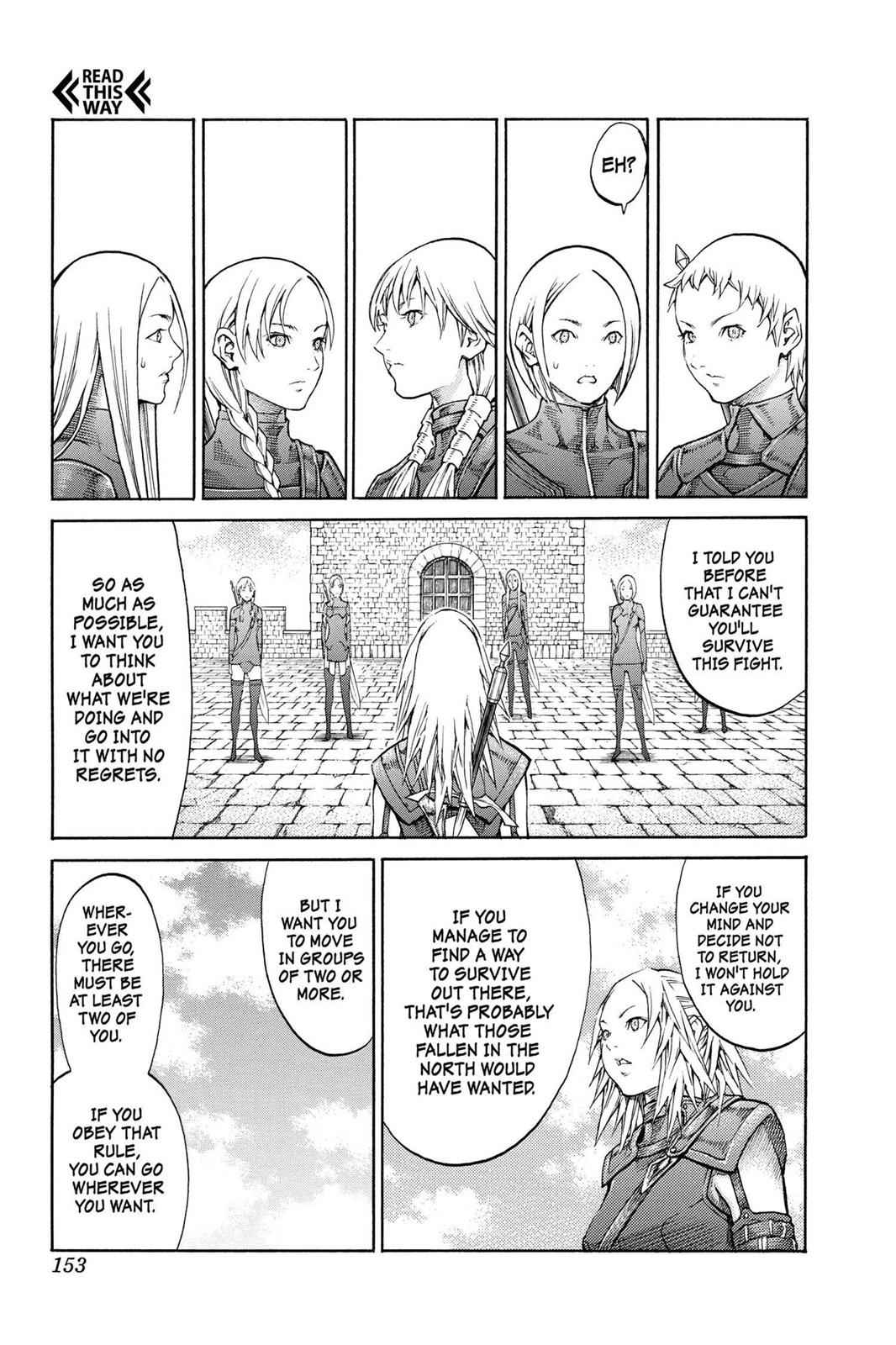 Claymore Chapter 82 Page 19