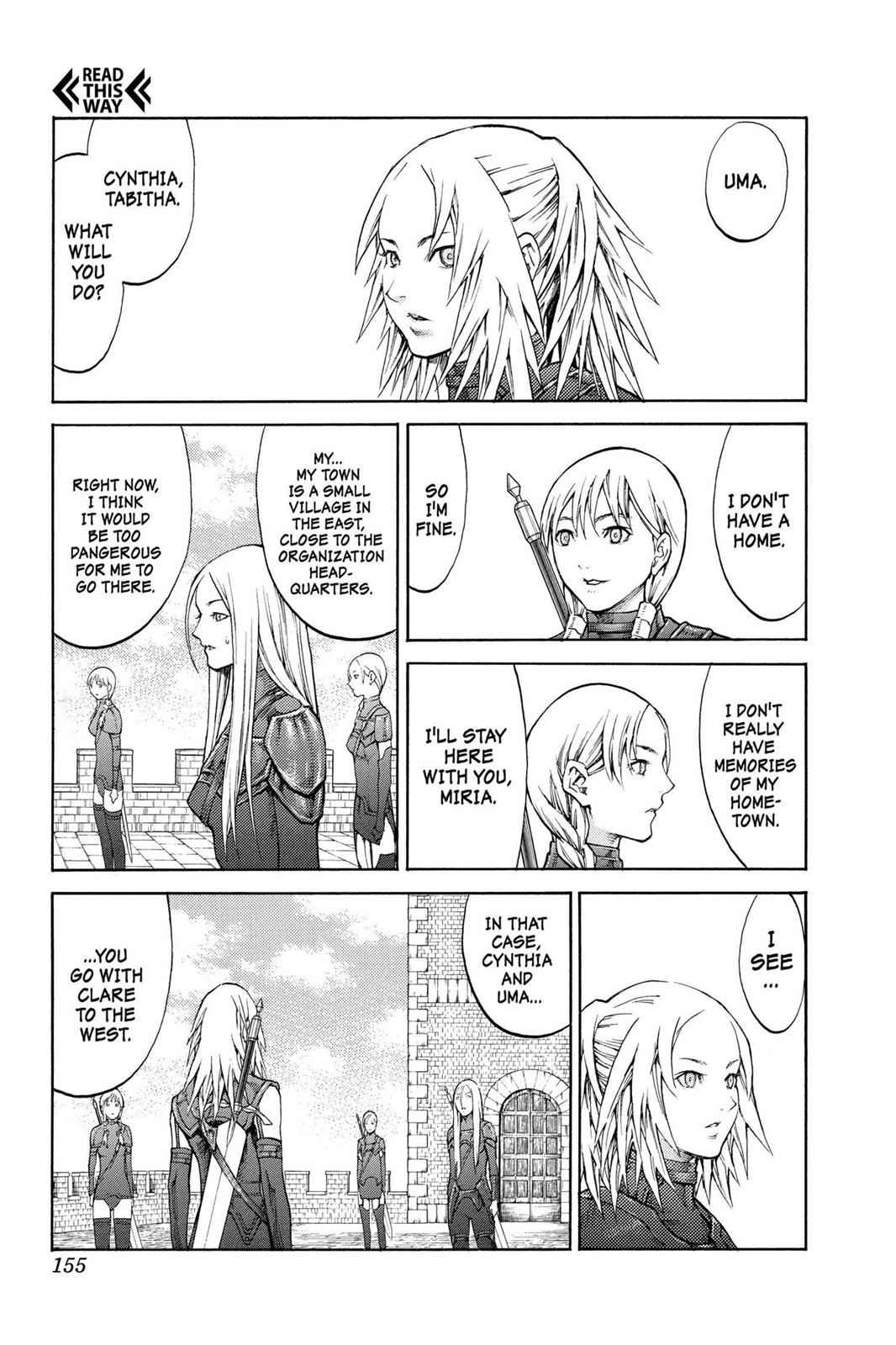 Claymore Chapter 82 Page 21