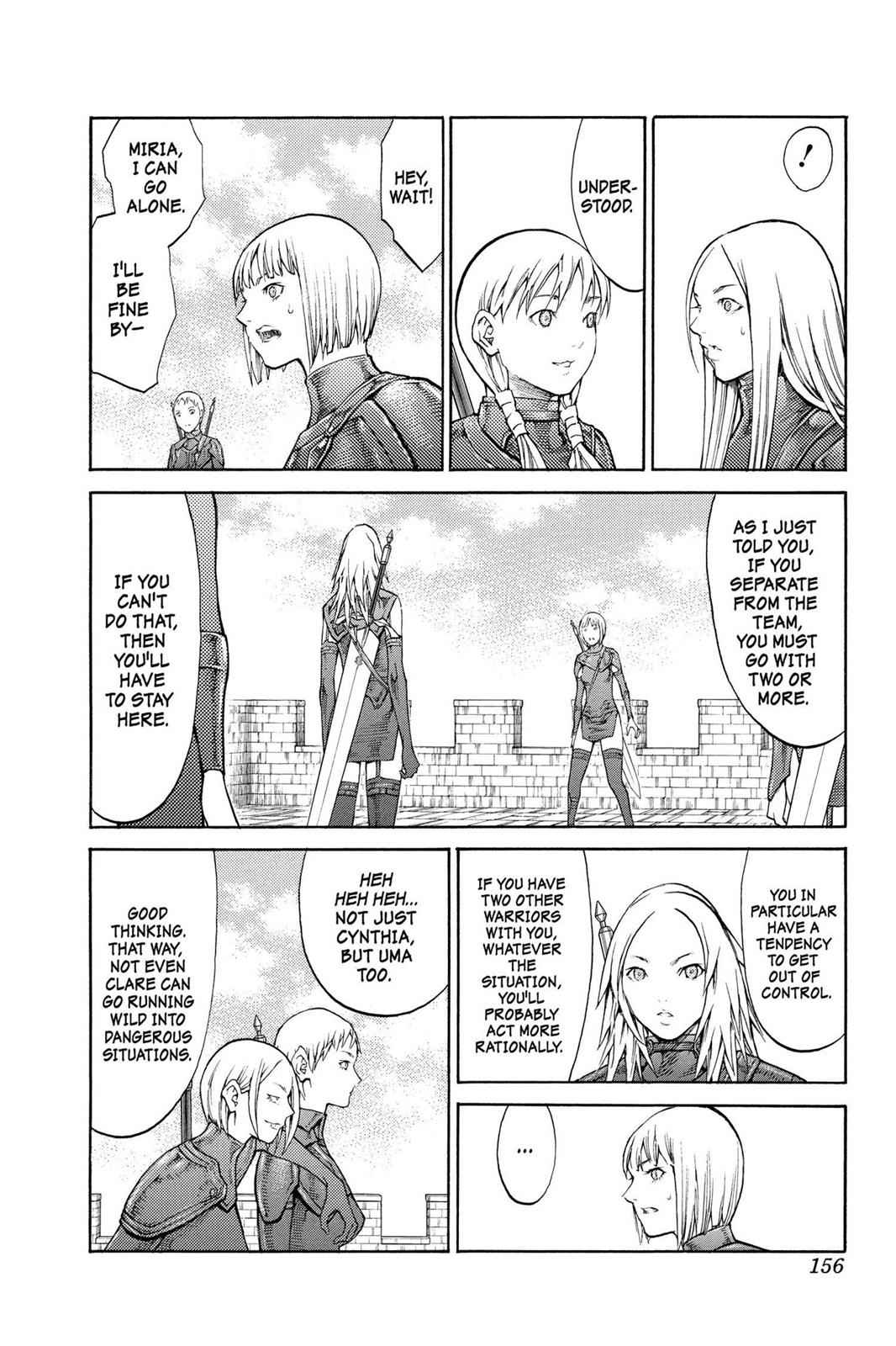 Claymore Chapter 82 Page 22