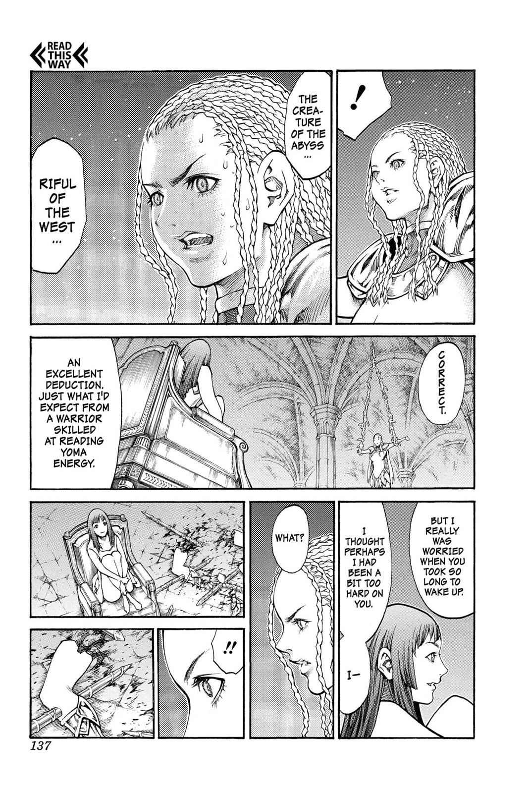 Claymore Chapter 82 Page 3