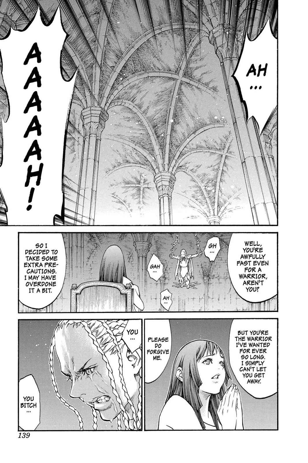 Claymore Chapter 82 Page 5