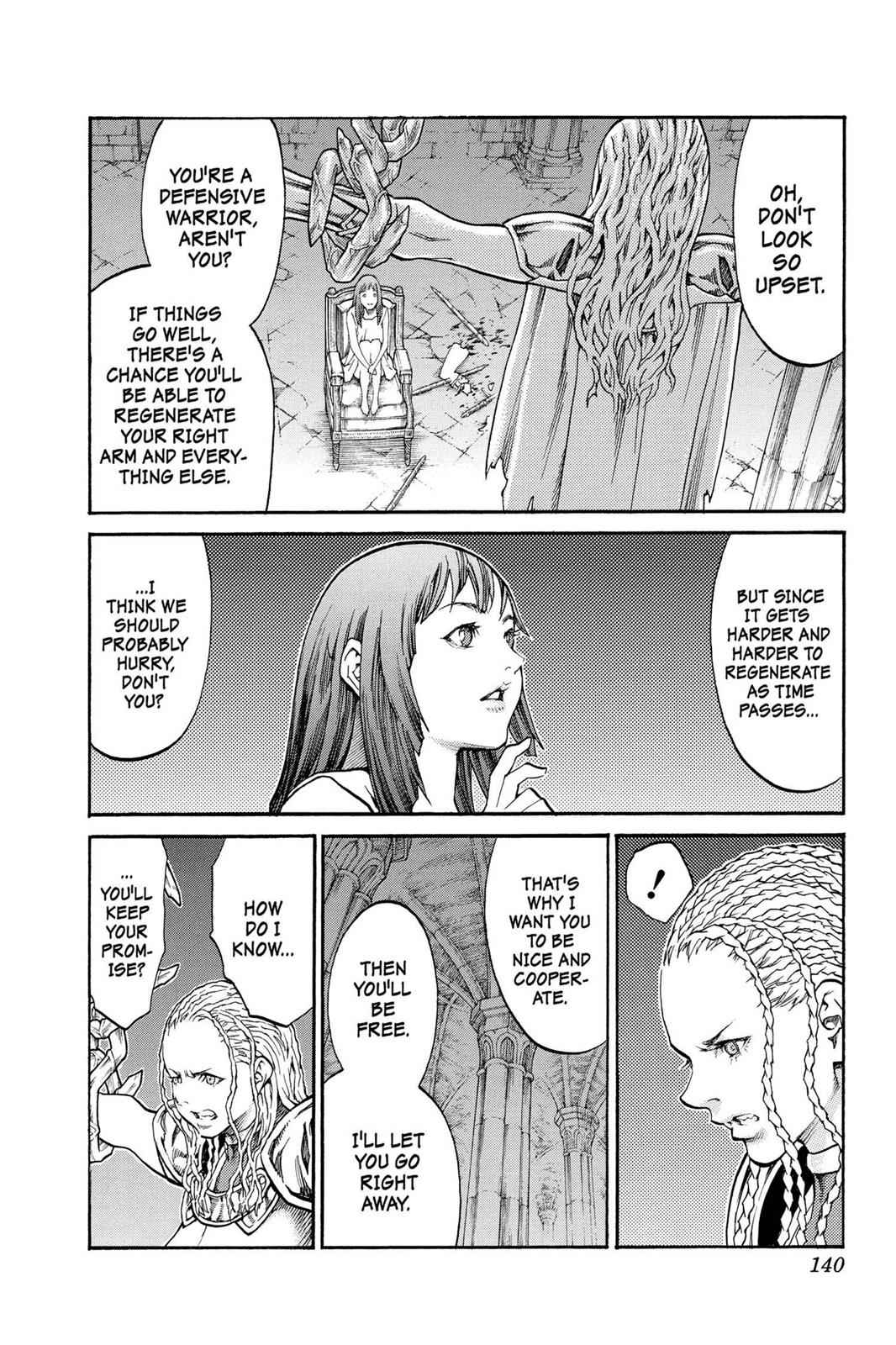 Claymore Chapter 82 Page 6