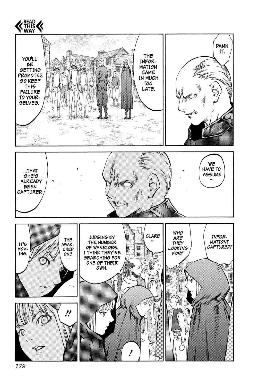 Claymore Chapter 83 Page 12