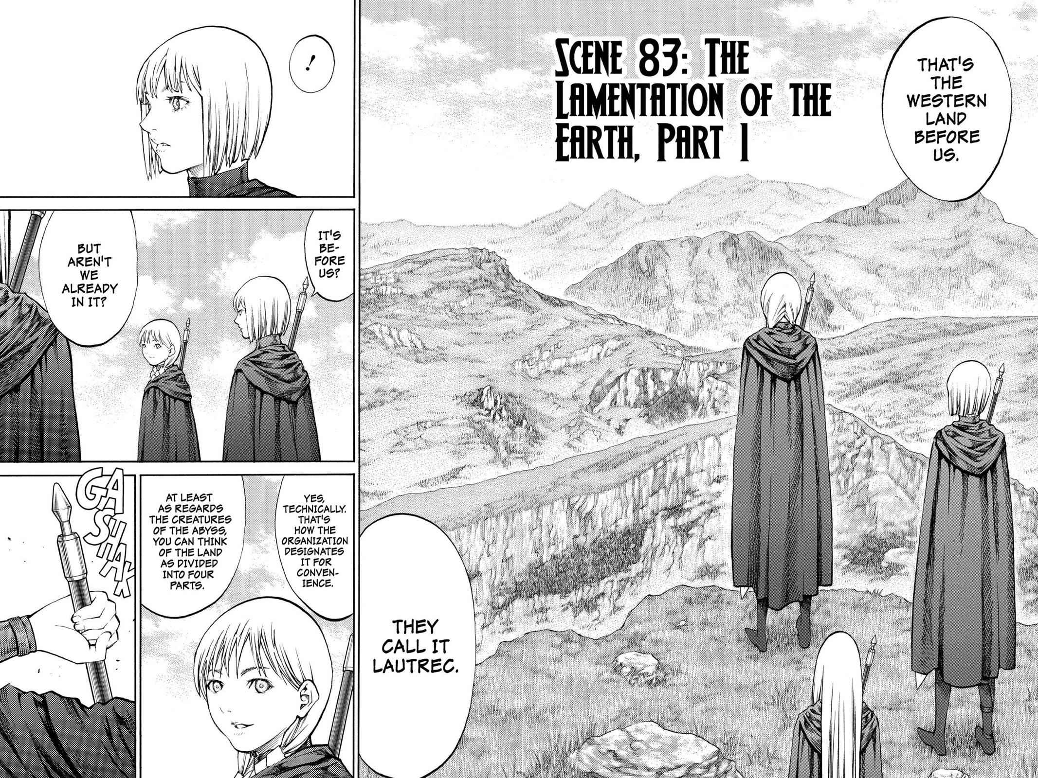 Claymore Chapter 83 Page 2