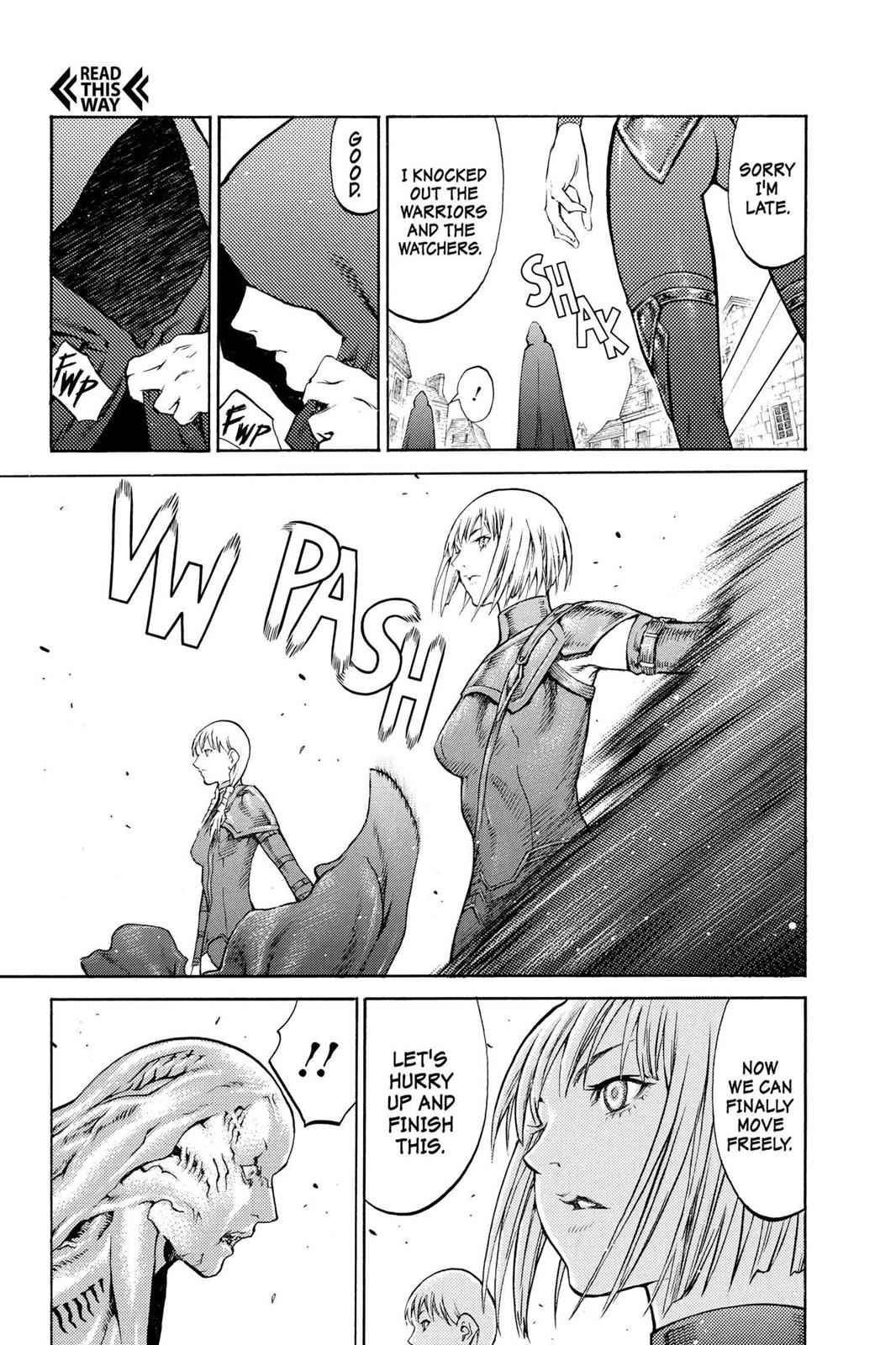 Claymore Chapter 83 Page 22