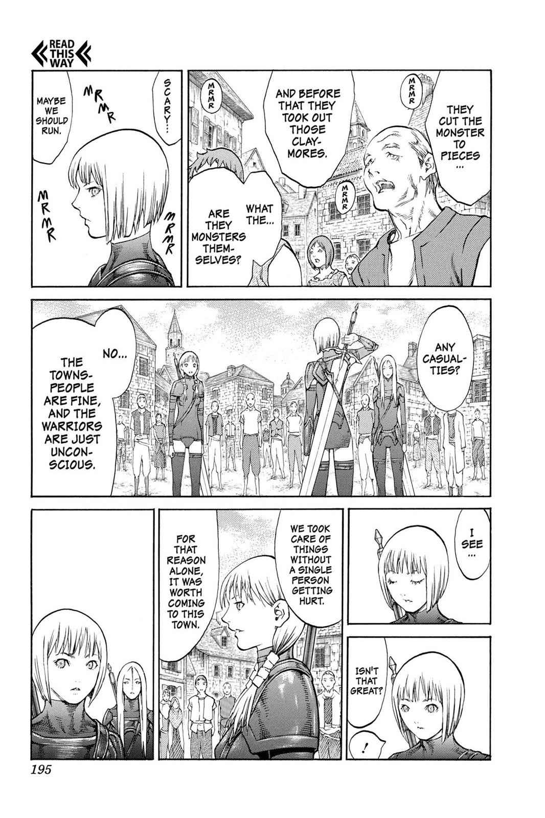 Claymore Chapter 83 Page 28