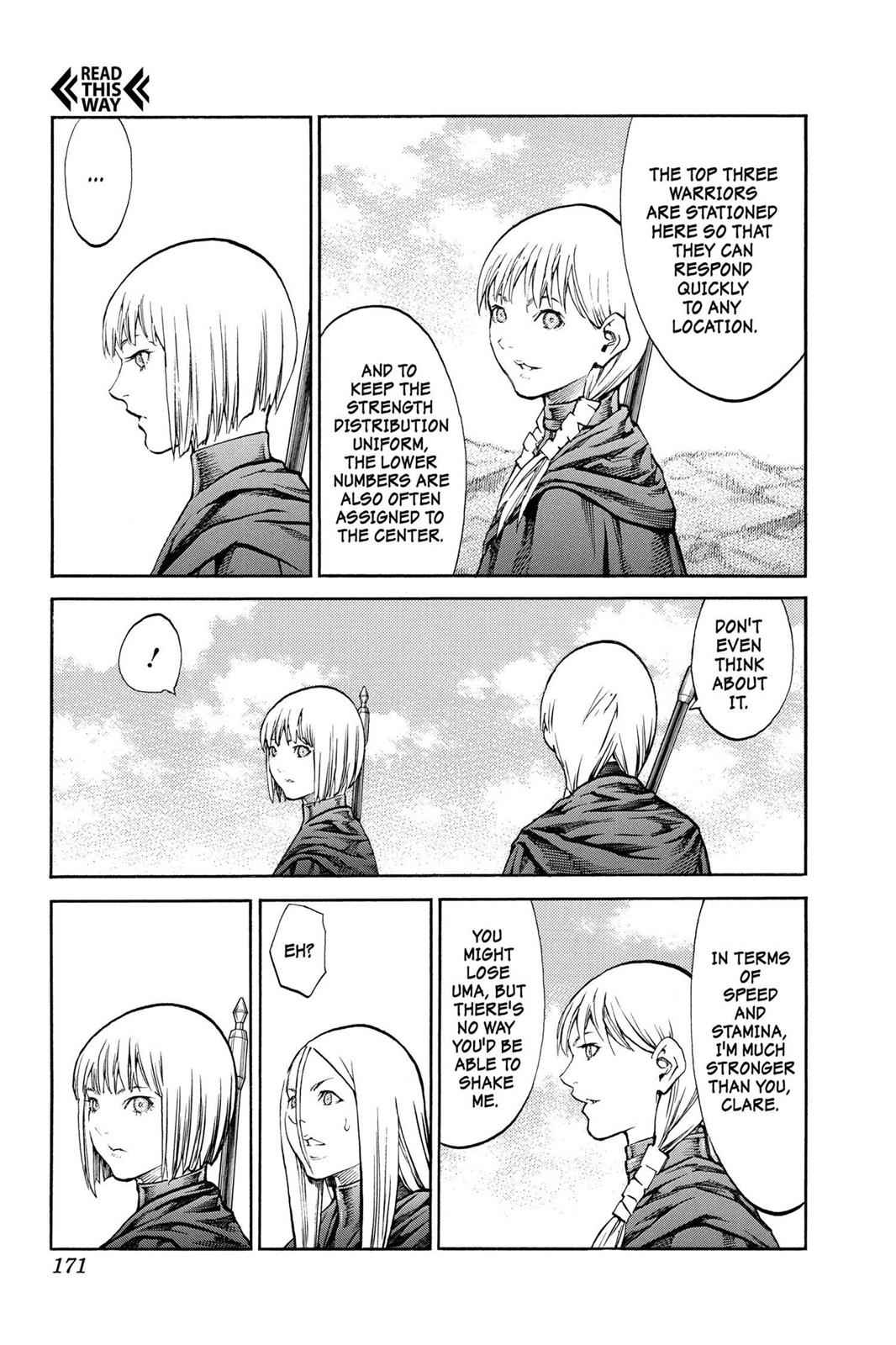 Claymore Chapter 83 Page 4