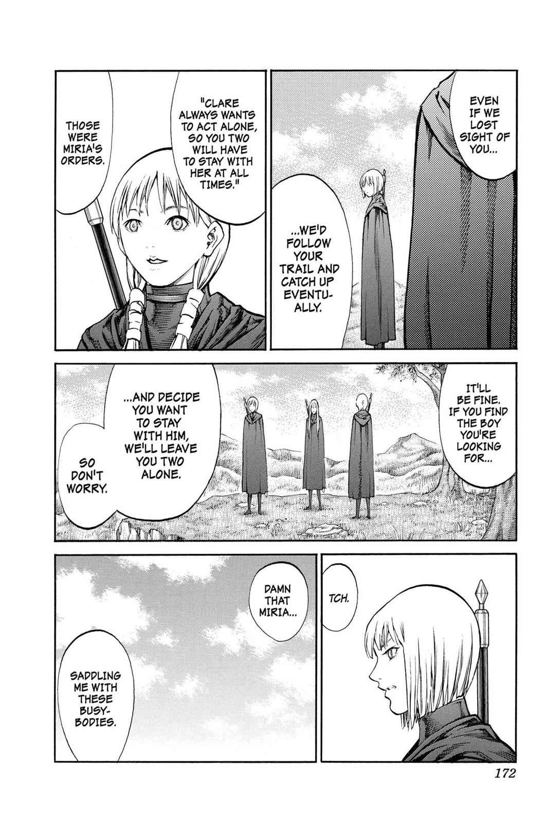 Claymore Chapter 83 Page 5