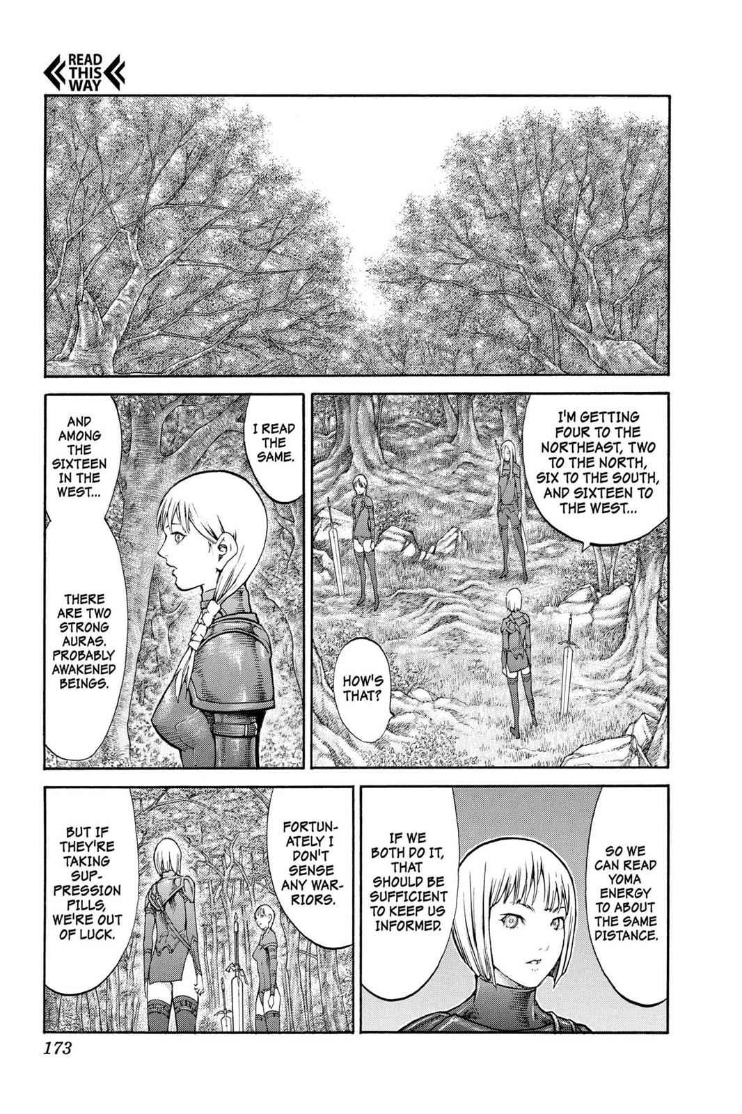 Claymore Chapter 83 Page 6