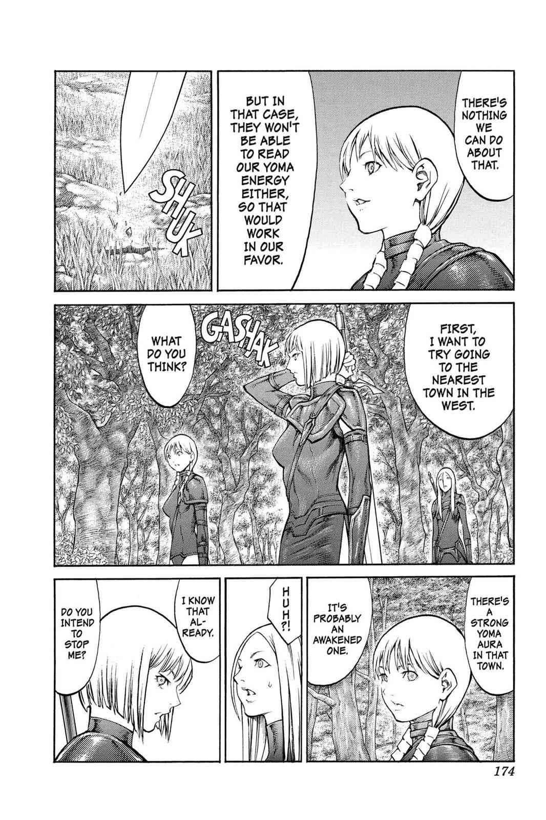 Claymore Chapter 83 Page 7
