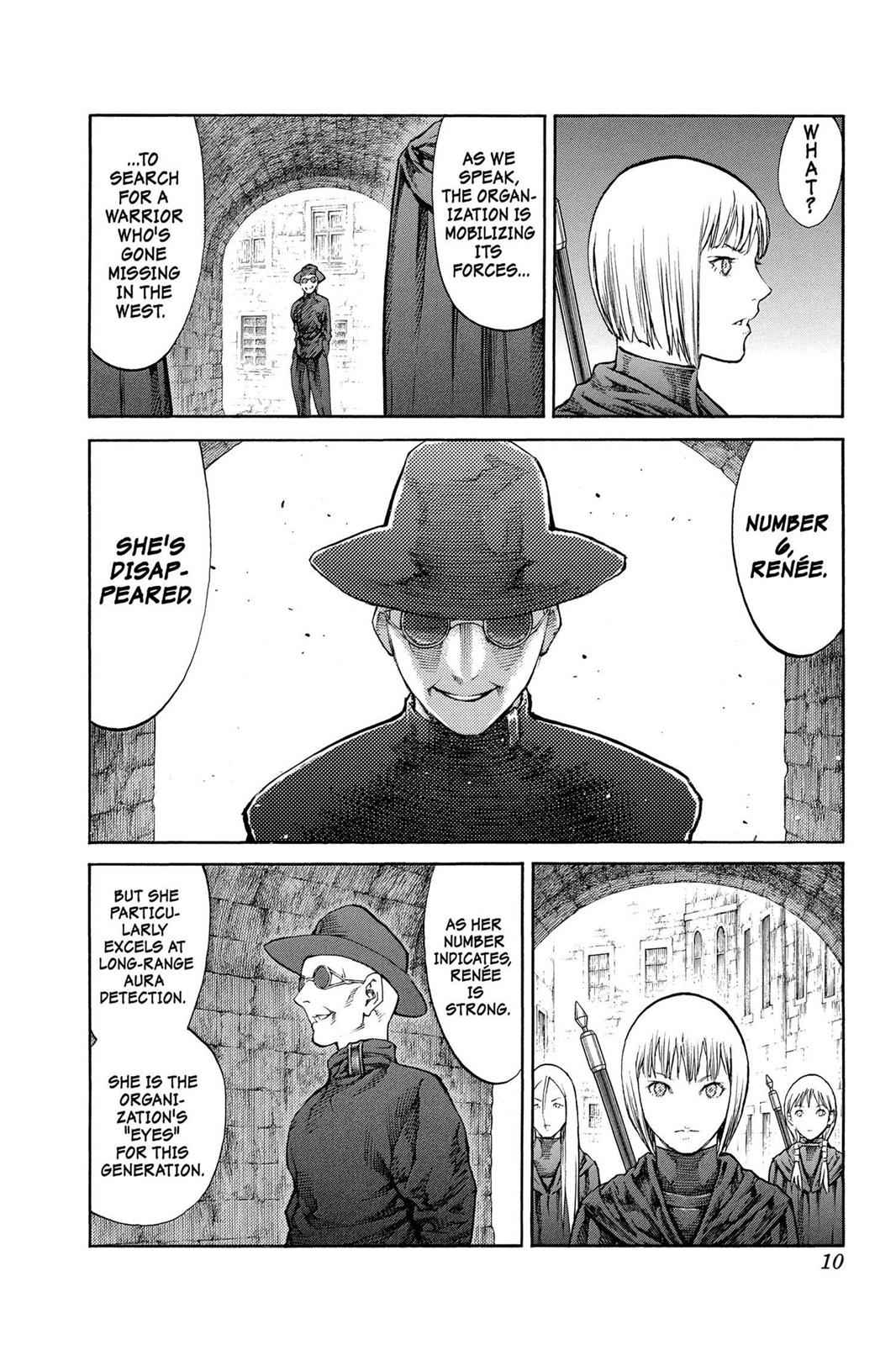 Claymore Chapter 84 Page 10