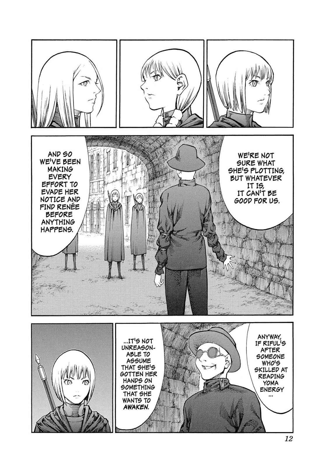 Claymore Chapter 84 Page 12