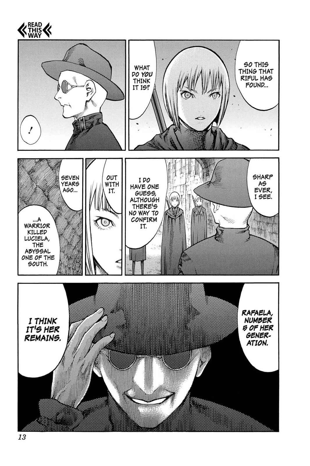 Claymore Chapter 84 Page 13