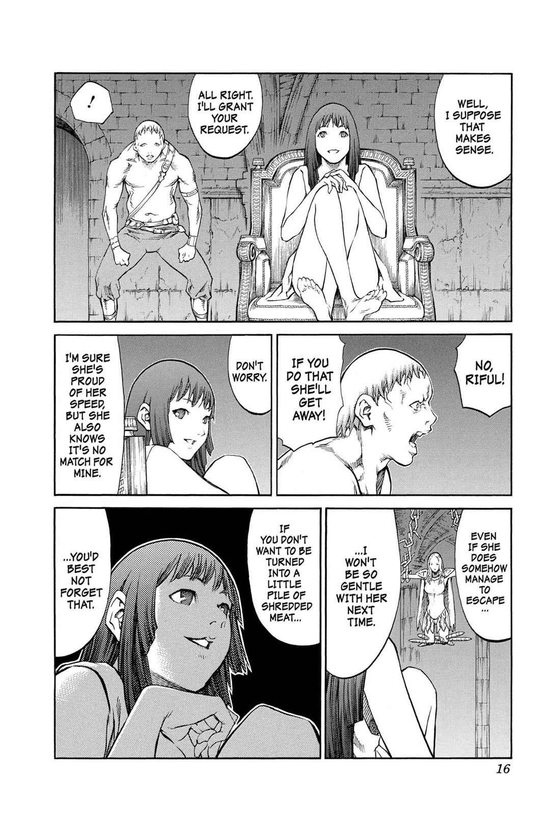 Claymore Chapter 84 Page 16