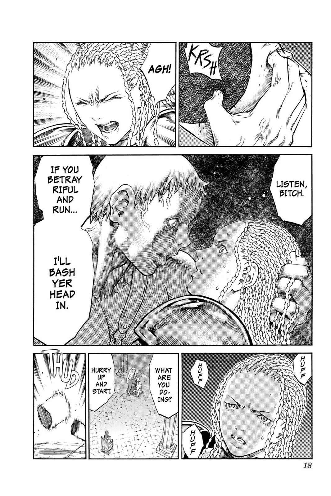 Claymore Chapter 84 Page 18