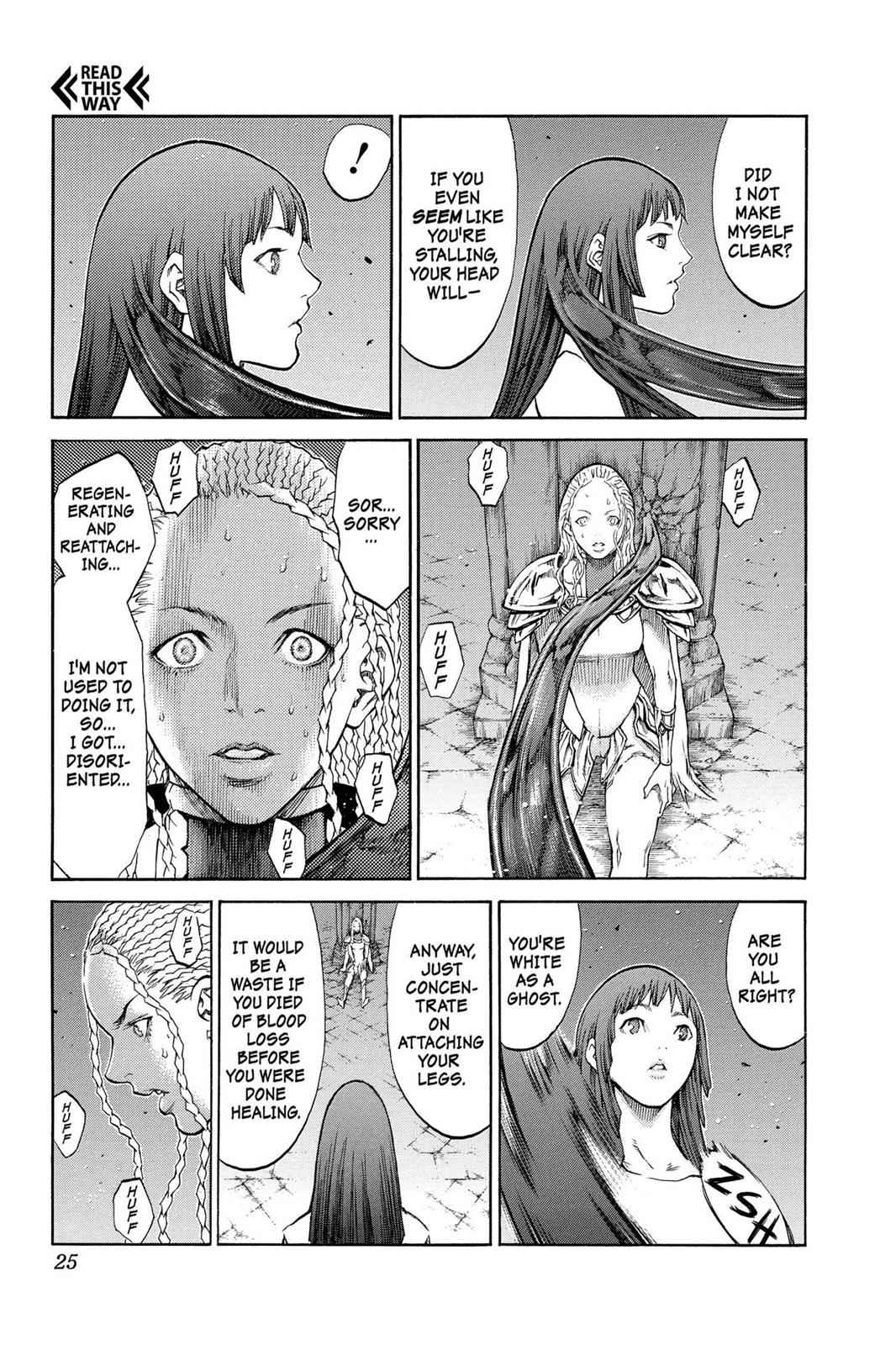 Claymore Chapter 84 Page 24