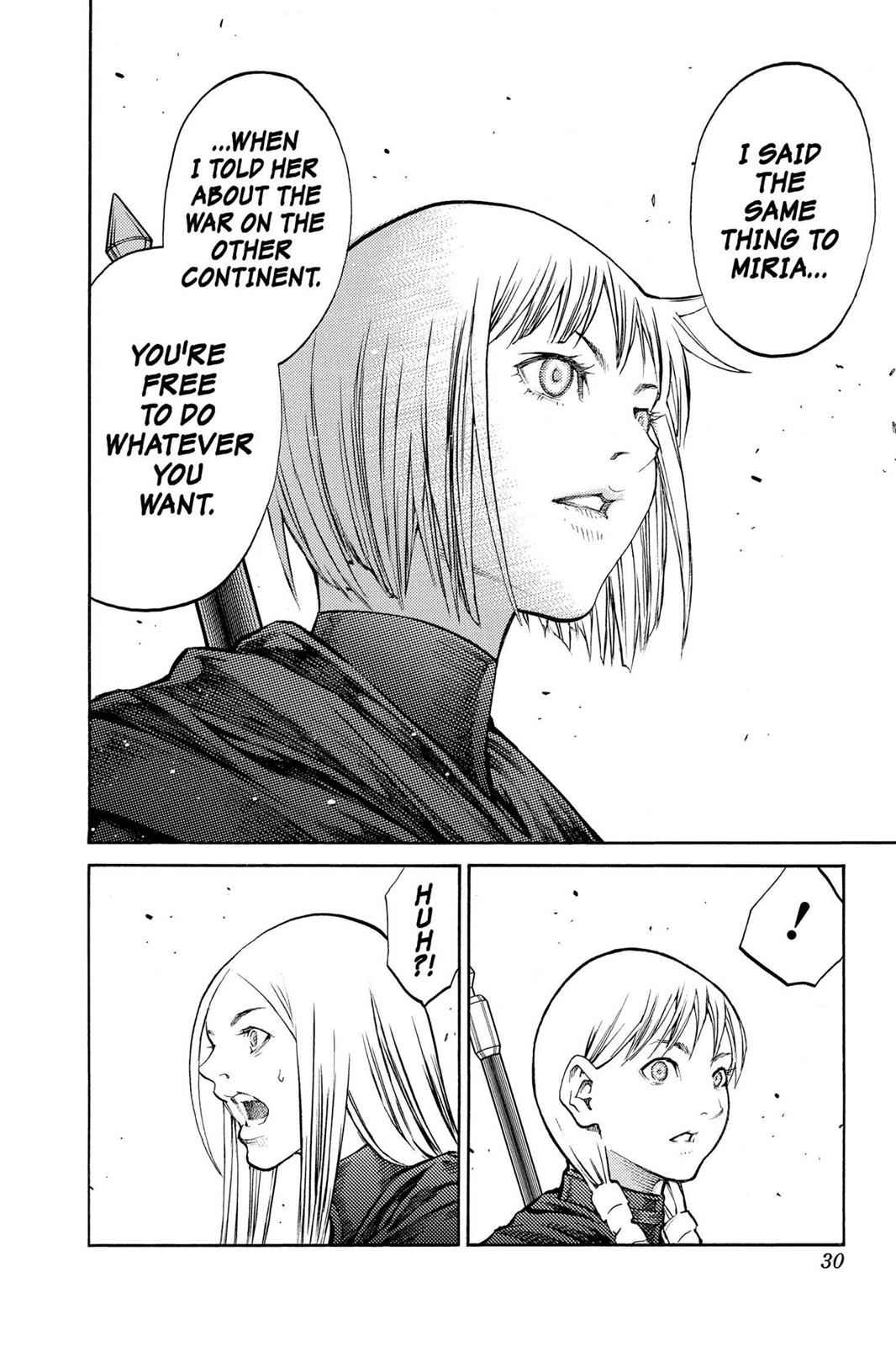 Claymore Chapter 84 Page 29