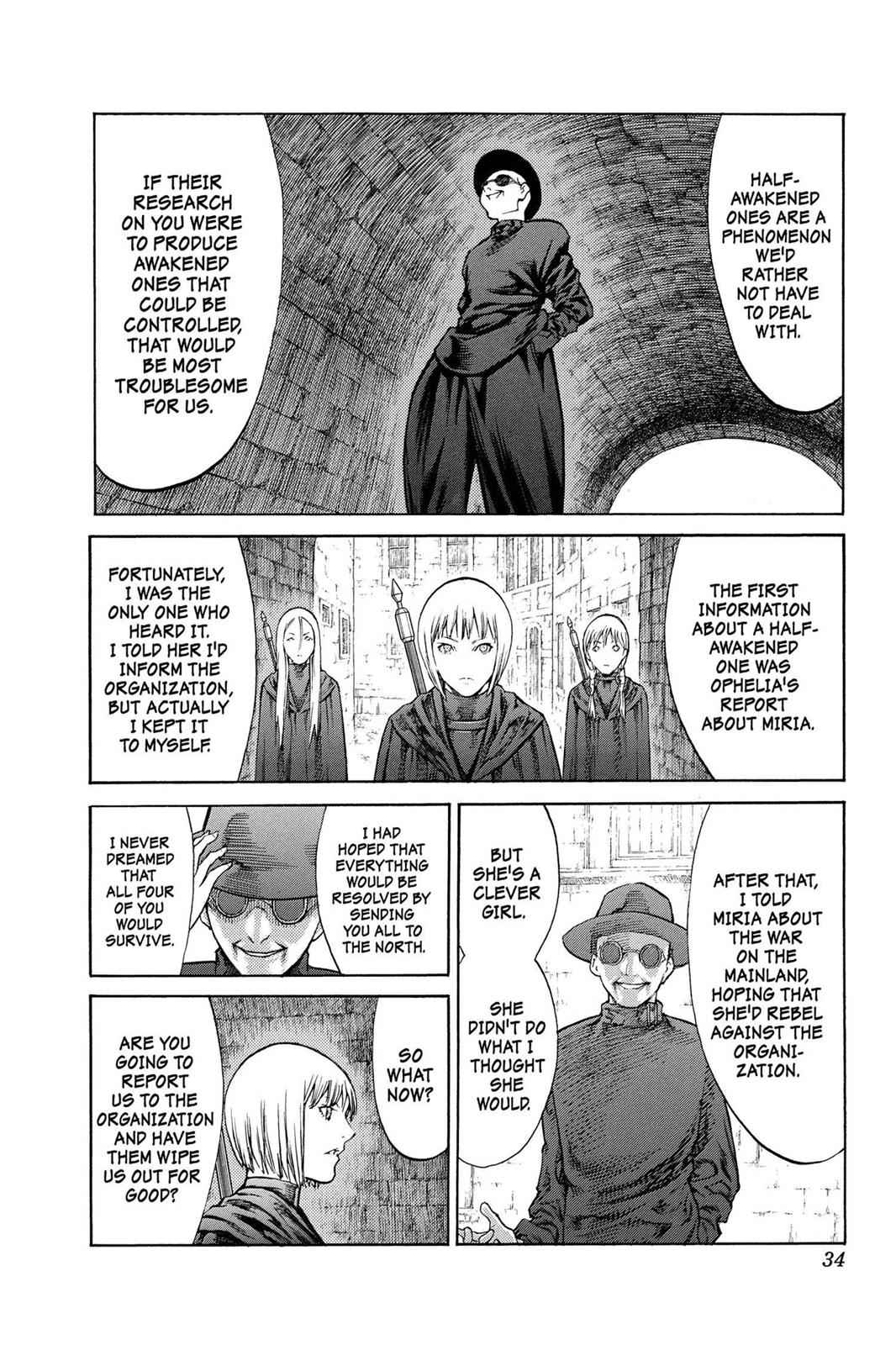 Claymore Chapter 84 Page 33