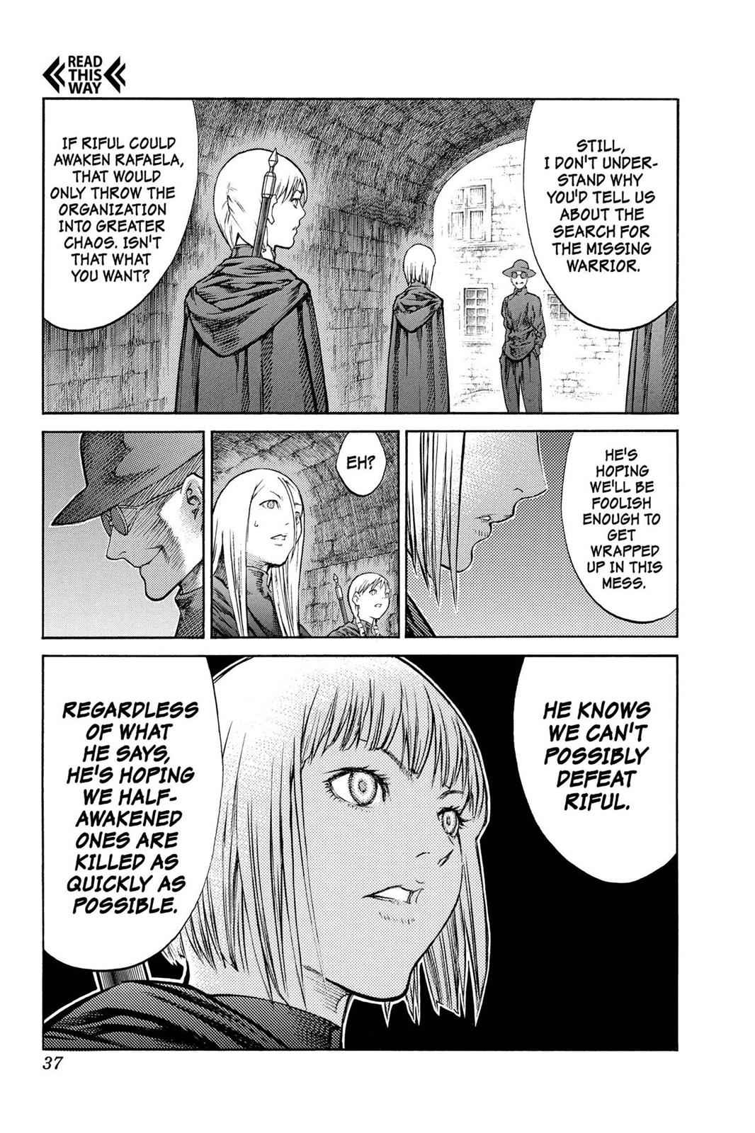 Claymore Chapter 84 Page 36