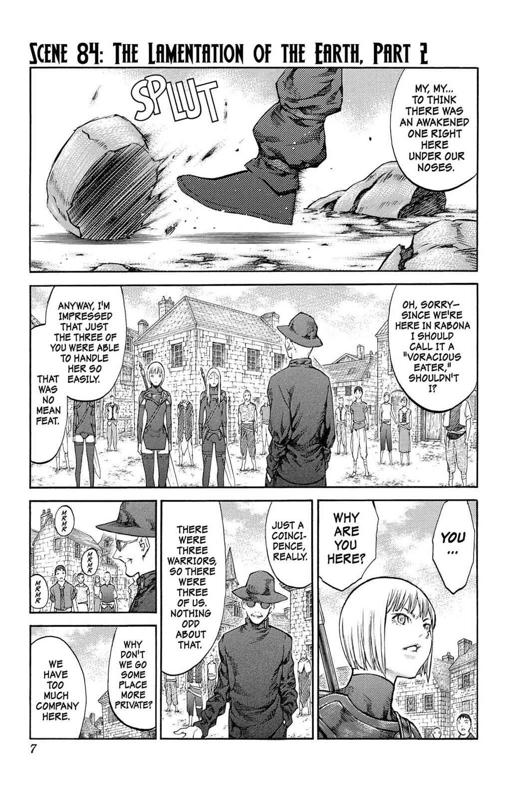 Claymore Chapter 84 Page 7