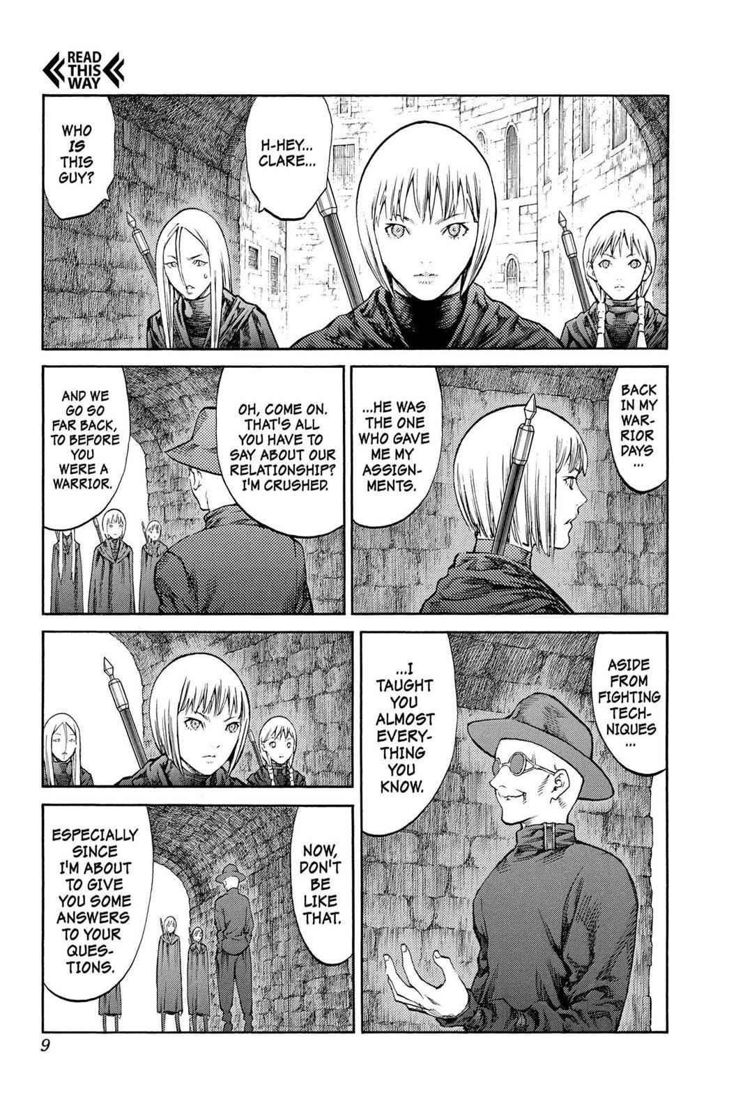 Claymore Chapter 84 Page 9