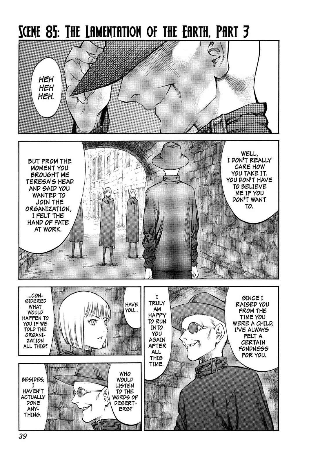 Claymore Chapter 85 Page 1