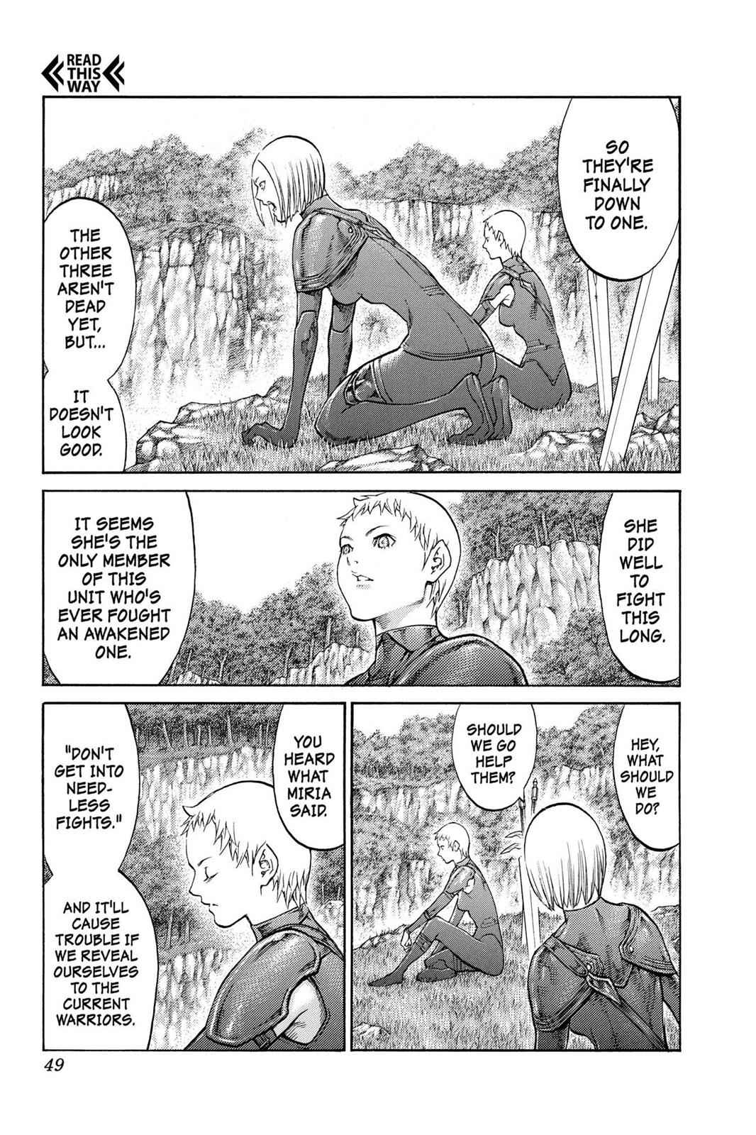 Claymore Chapter 85 Page 11
