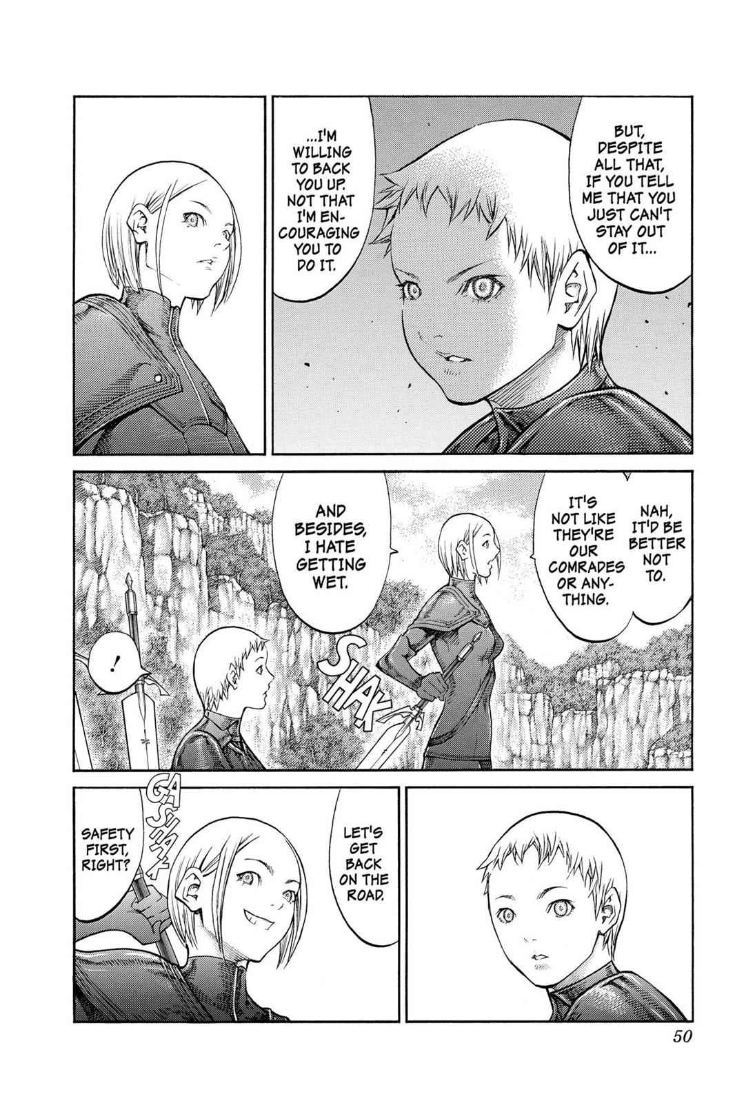 Claymore Chapter 85 Page 12