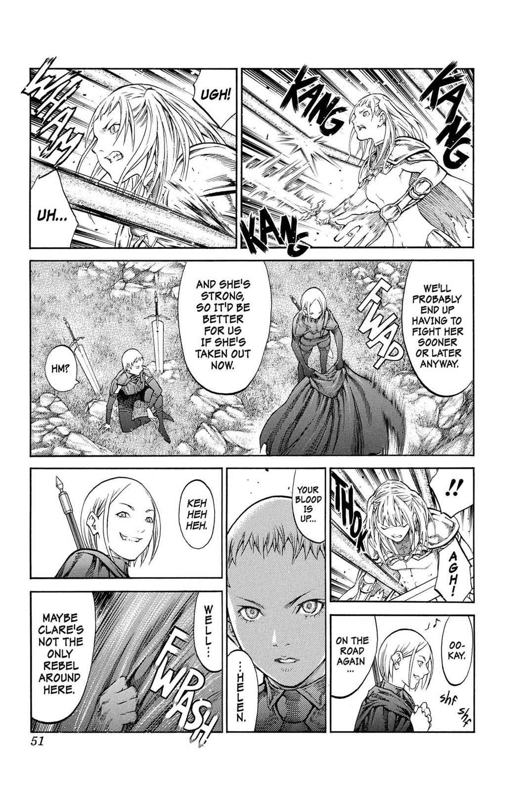 Claymore Chapter 85 Page 13